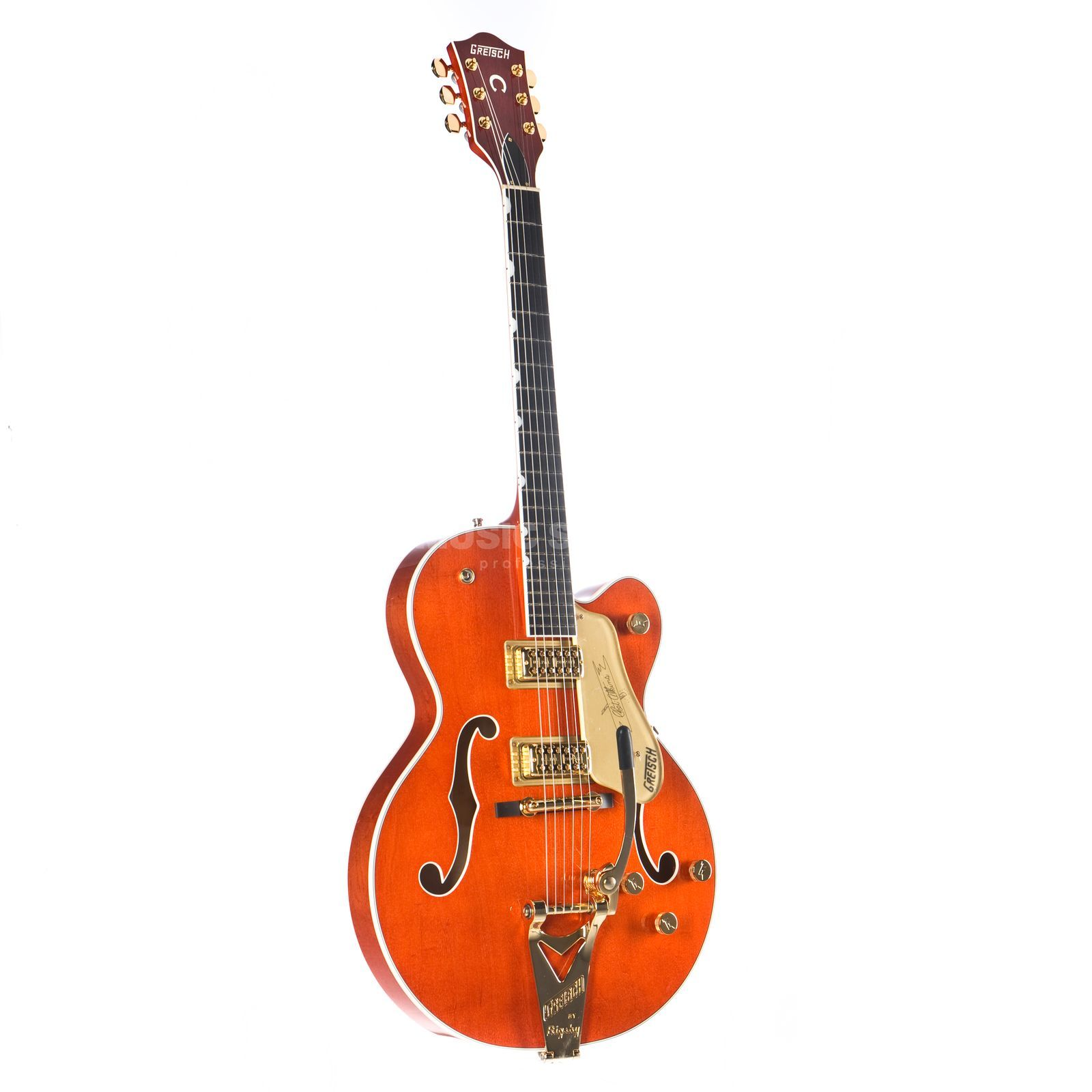 Gretsch G6120T Players Edition Nashville Bigsby Orange Stain Produktbillede