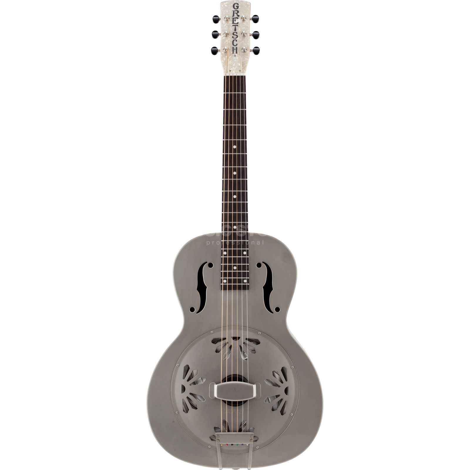 Gretsch G9201 Honey Dipper V-Neck Metal Resonator Guitar Produktbillede