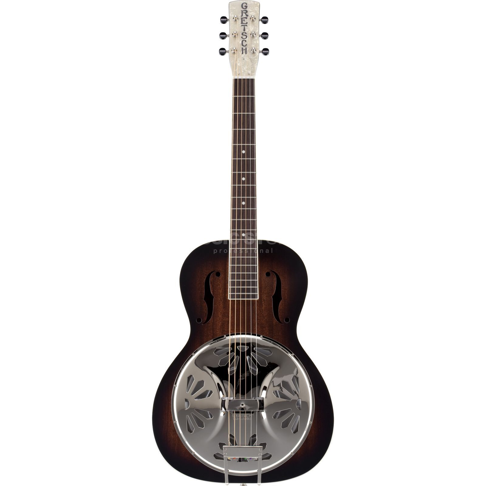 Gretsch G9220 Bobtail Round Neck Deluxe Resonator Guitar Product Image