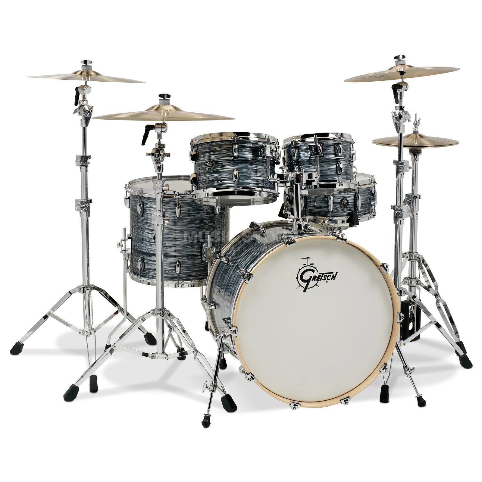 Gretsch Renown Maple 2016 RN2-E8246, Silver Oyster Pearl Product Image