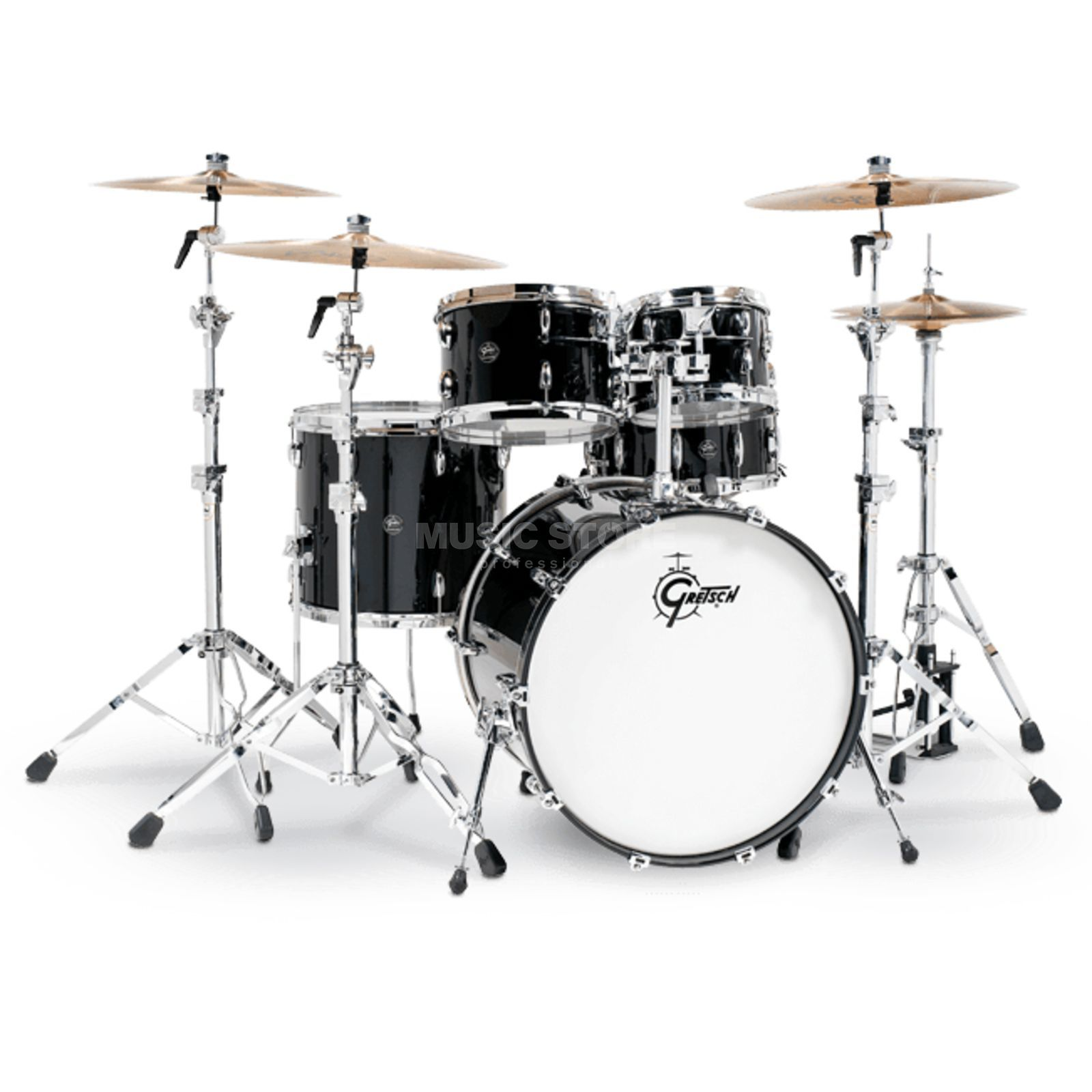 Gretsch Renown Maple 2016 RN2-J483, Piano Black Product Image
