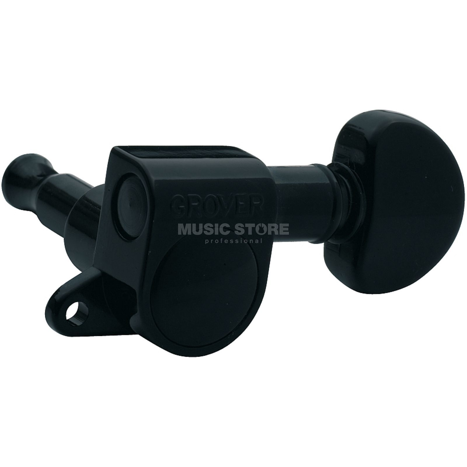 Grover Mini Rotomatics Black 6 links Produktbild