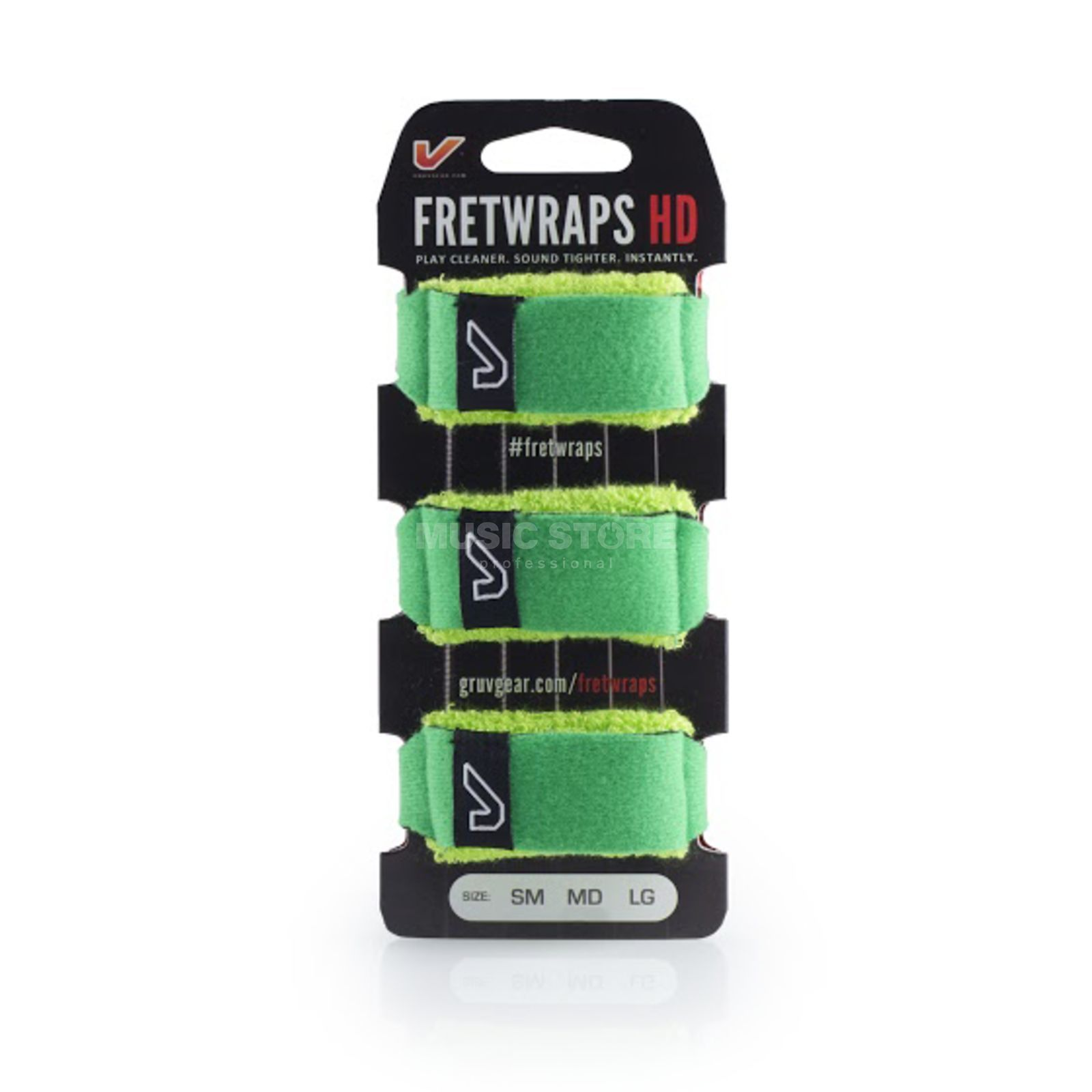 Gruv Gear Fret Wraps HD Leaf Green Small, 3er Pack Immagine prodotto
