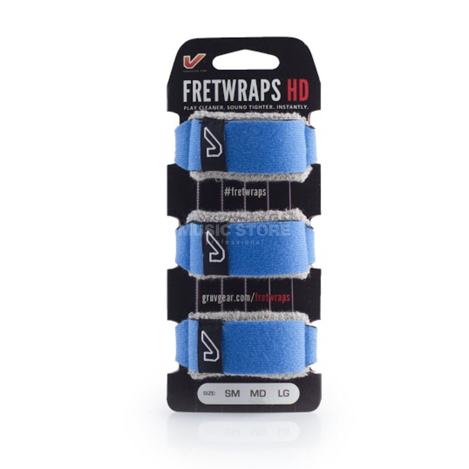 Gruv Gear Fret Wraps HD Sky Blue Medium, 3er Pack Produktbillede