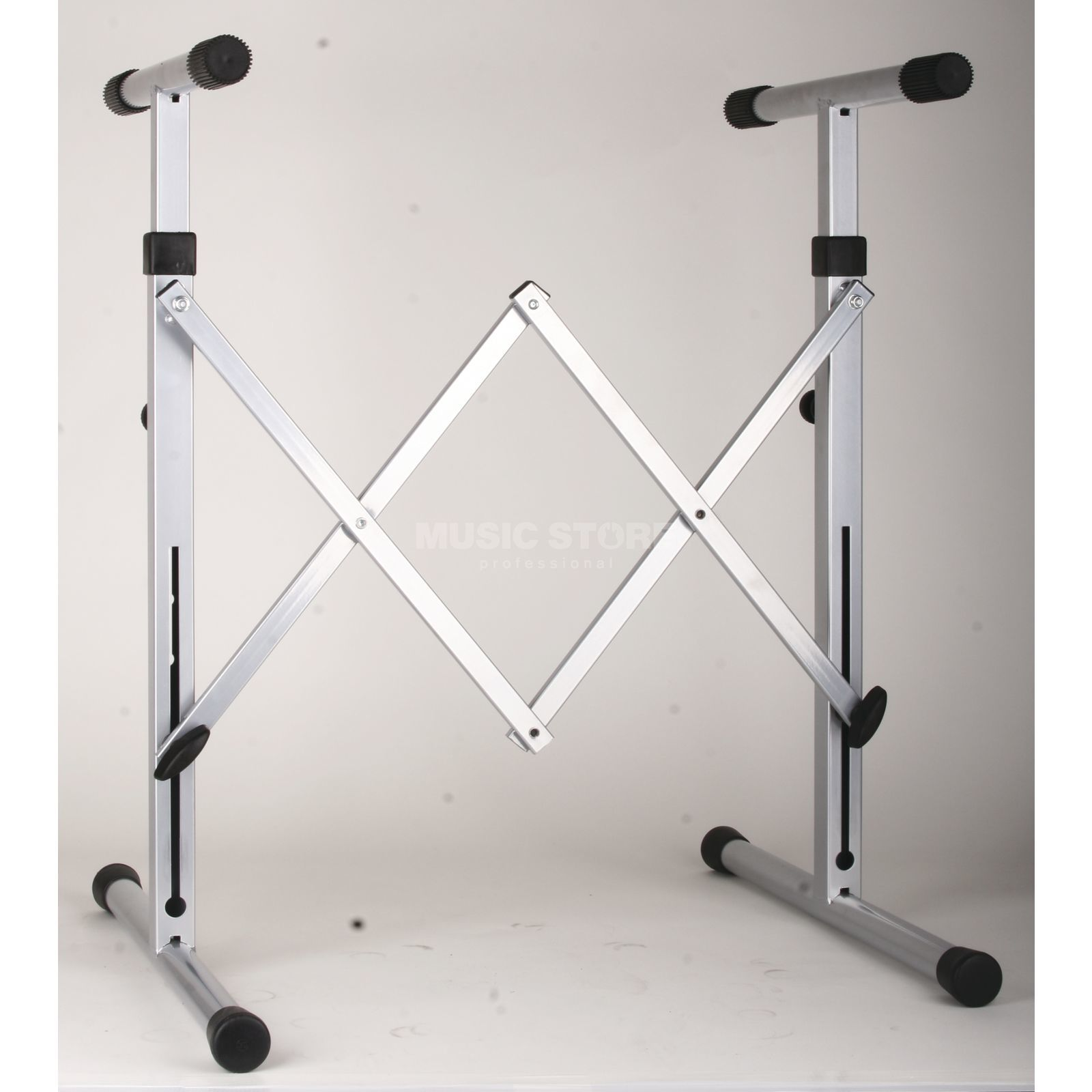 GVI keyboard stand,  silver  Product Image