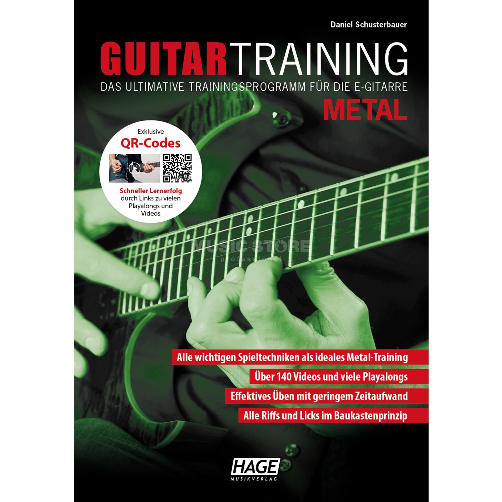 Hage Musikverlag Guitar Training: Metal Product Image