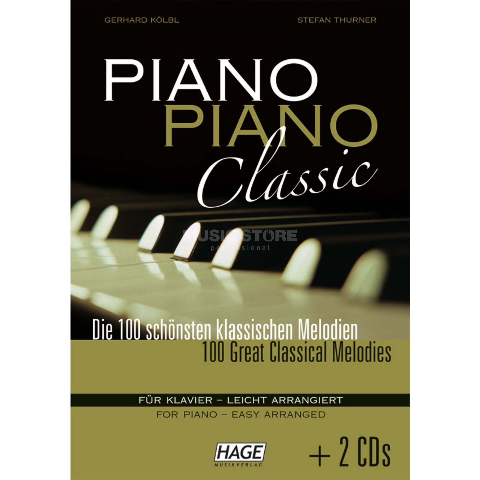 Hage Musikverlag Piano Piano classic 100 Melodien PVG Produktbillede