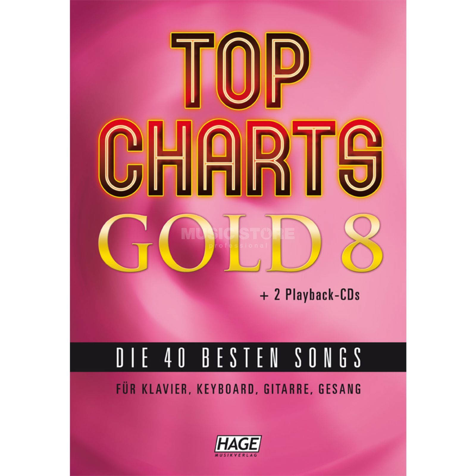 Hage Musikverlag Top Charts Gold 8 Product Image