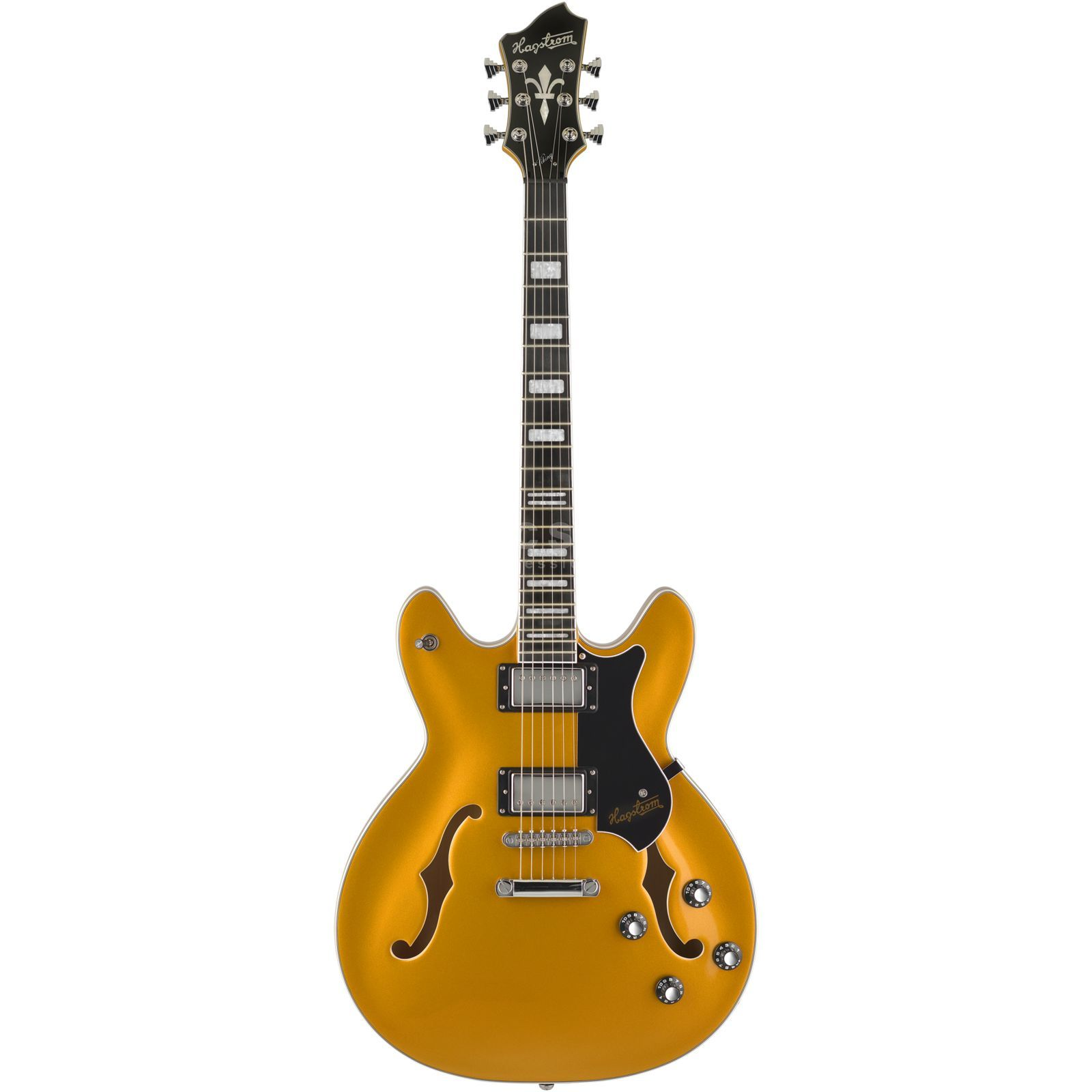 Hagstrom Justin York Viking Gold Top Product Image