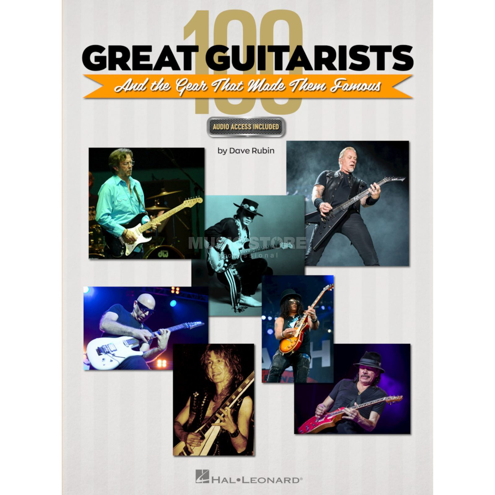 Hal Leonard 100 Great Guitarists and the Gear That Made Them Famous Imagen del producto