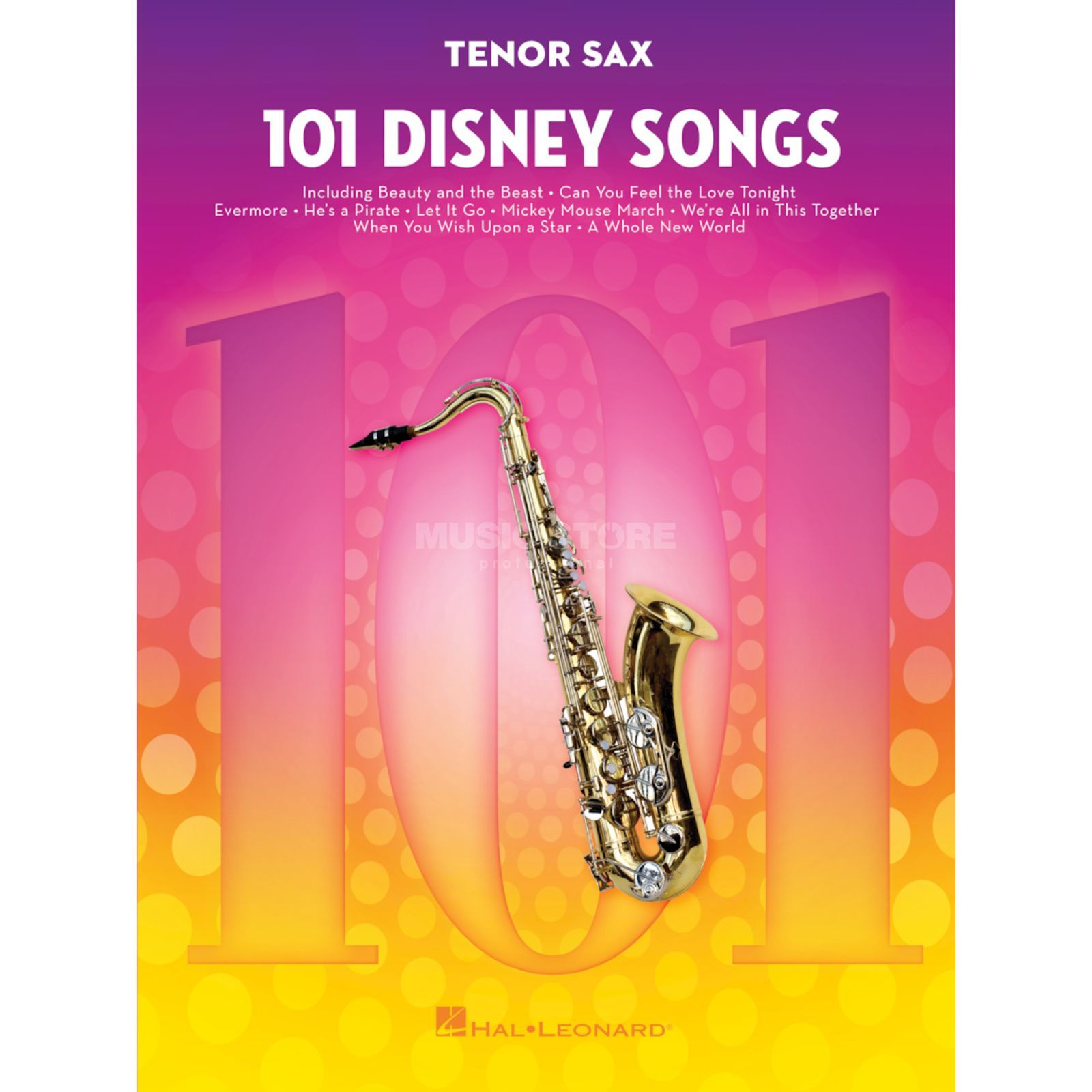 Hal Leonard 101 Disney Songs: Tenor Sax Product Image