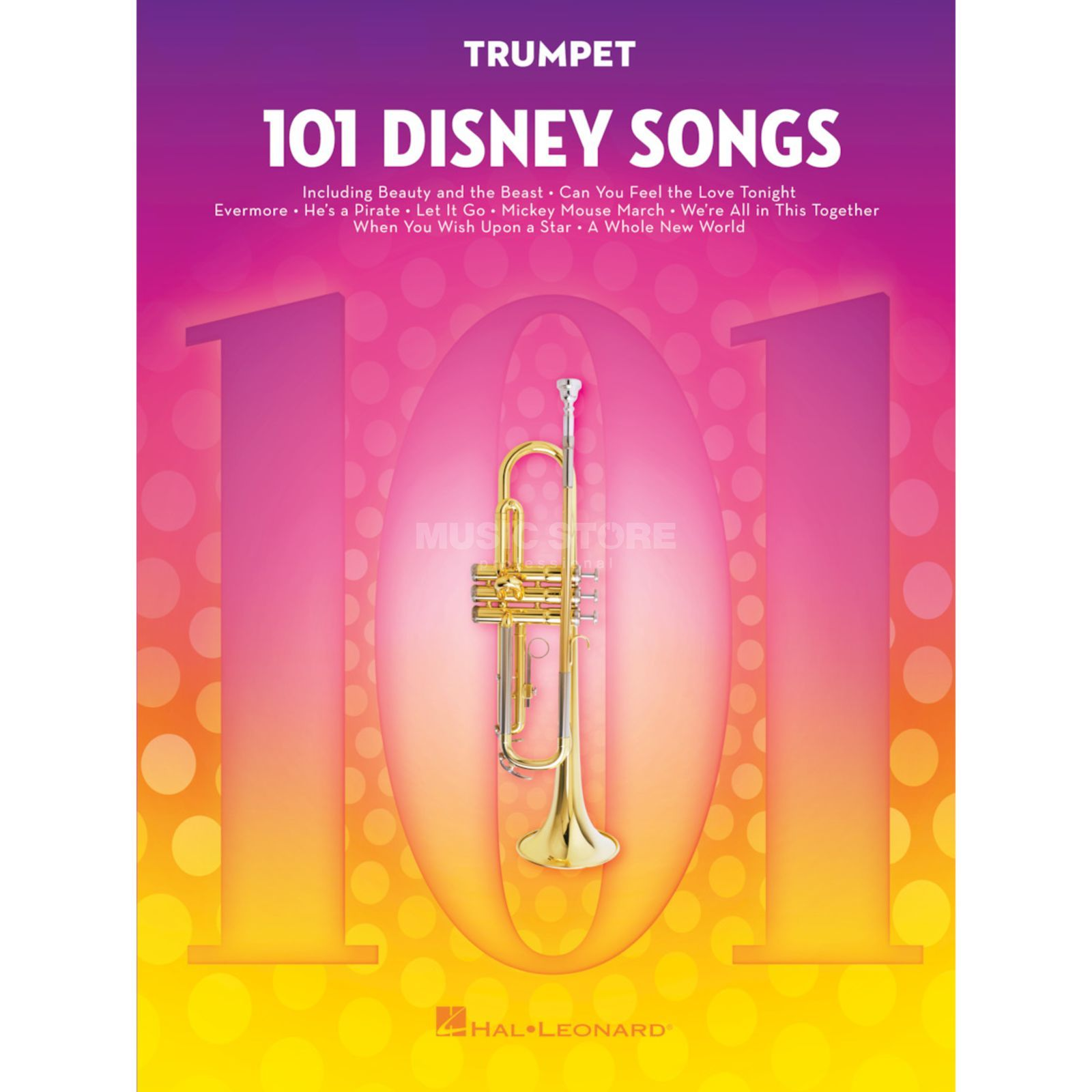 Hal Leonard 101 Disney Songs: Trumpet Product Image