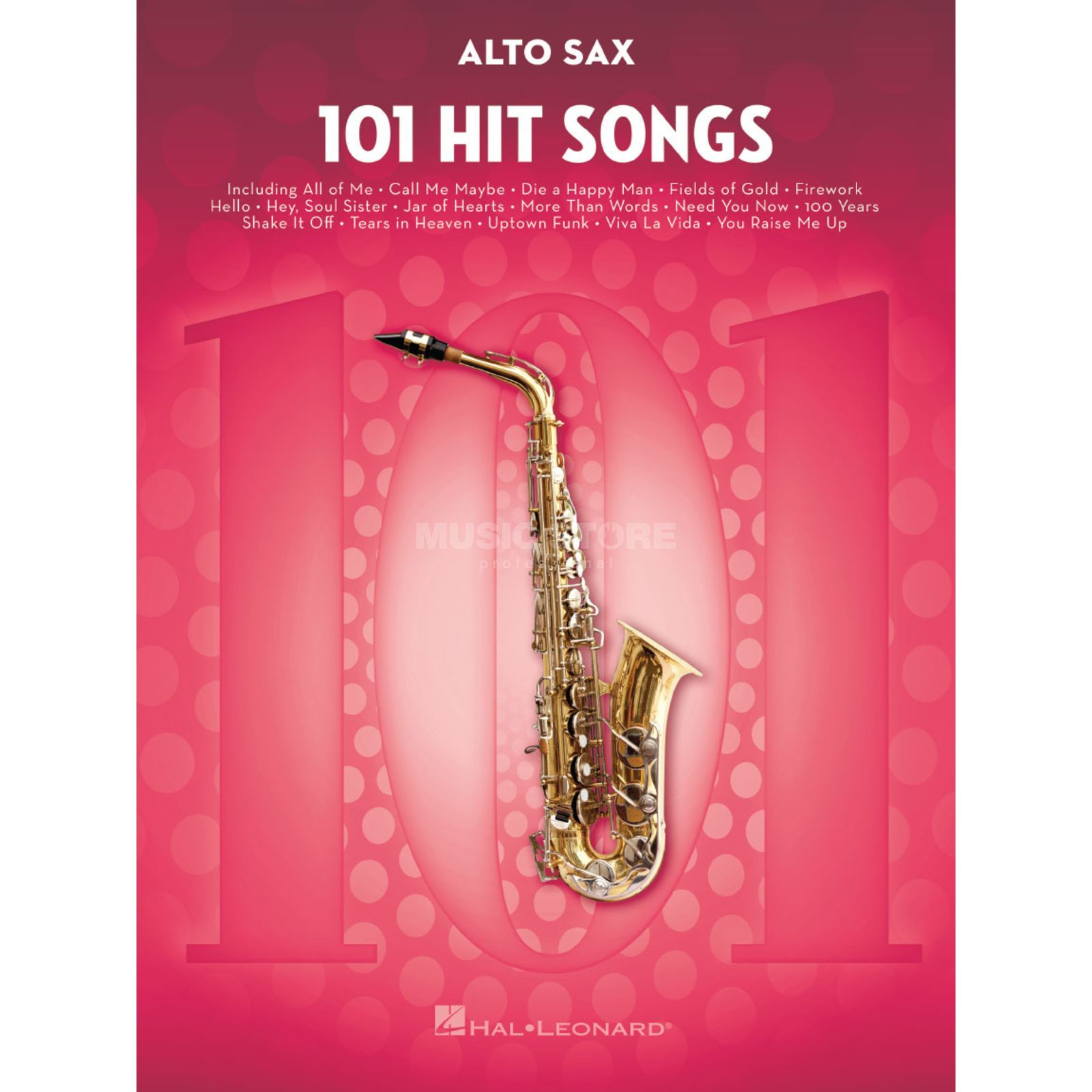 Hal Leonard 101 Hit Songs For Alto Saxophone Product Image