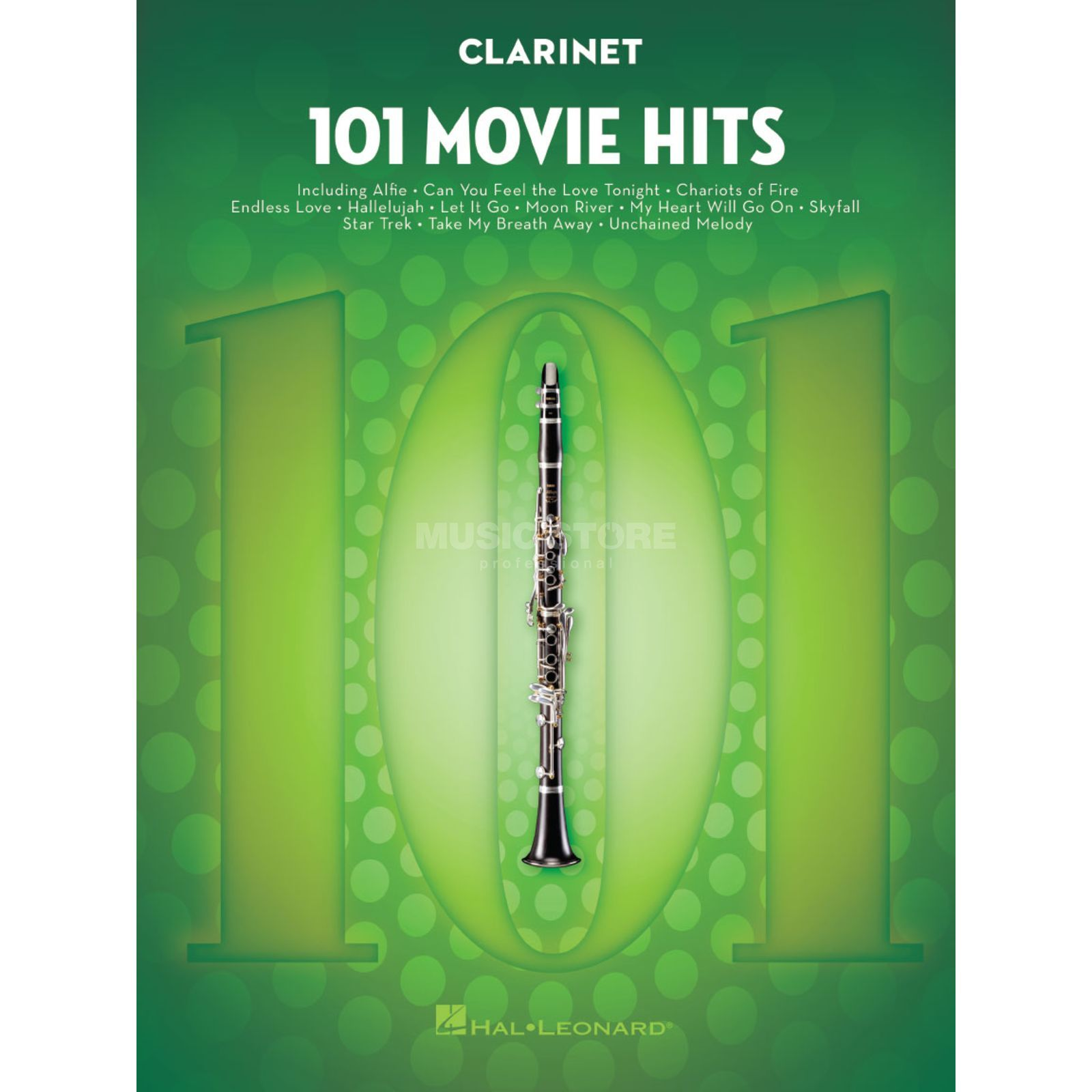 Hal Leonard 101 Movie Hits For Clarinet Produktbild