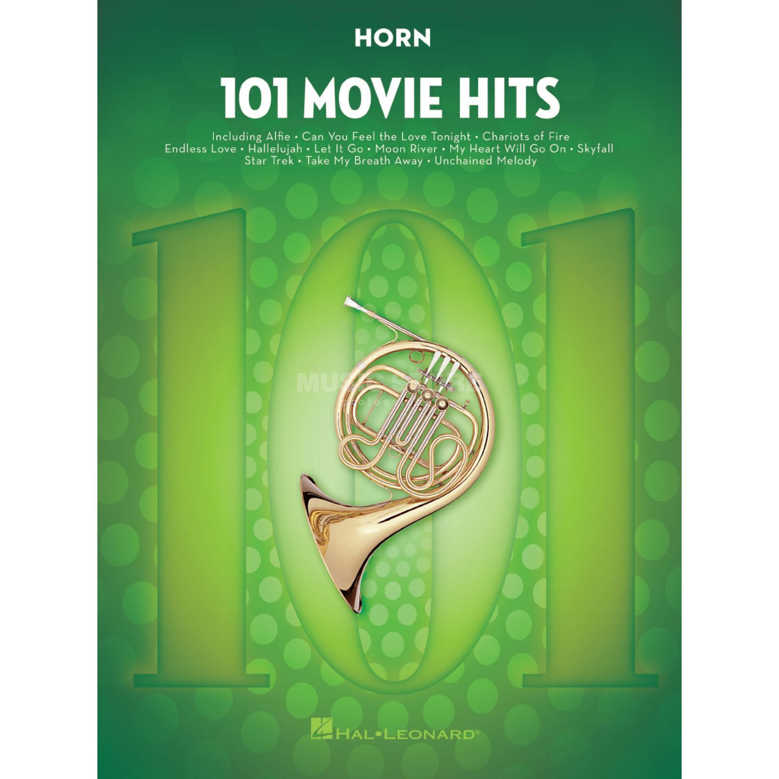 Hal Leonard 101 Movie Hits For Horn Produktbild