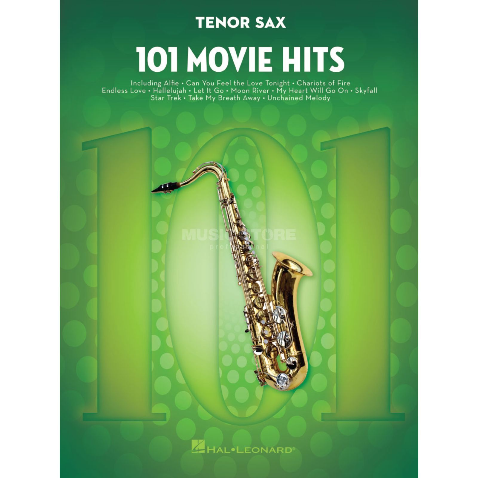 Hal Leonard 101 Movie Hits For Tenor Saxophone Produktbild