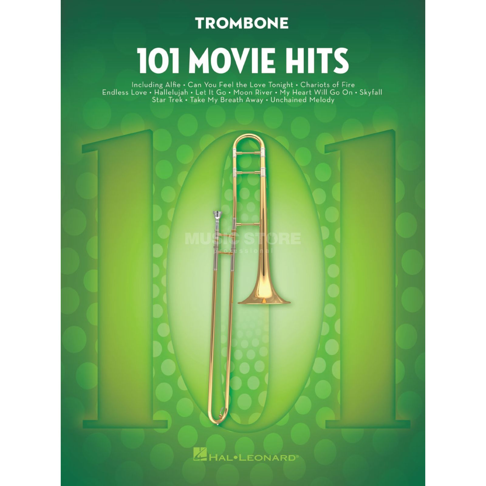 Hal Leonard 101 Movie Hits For Trombone Imagem do produto