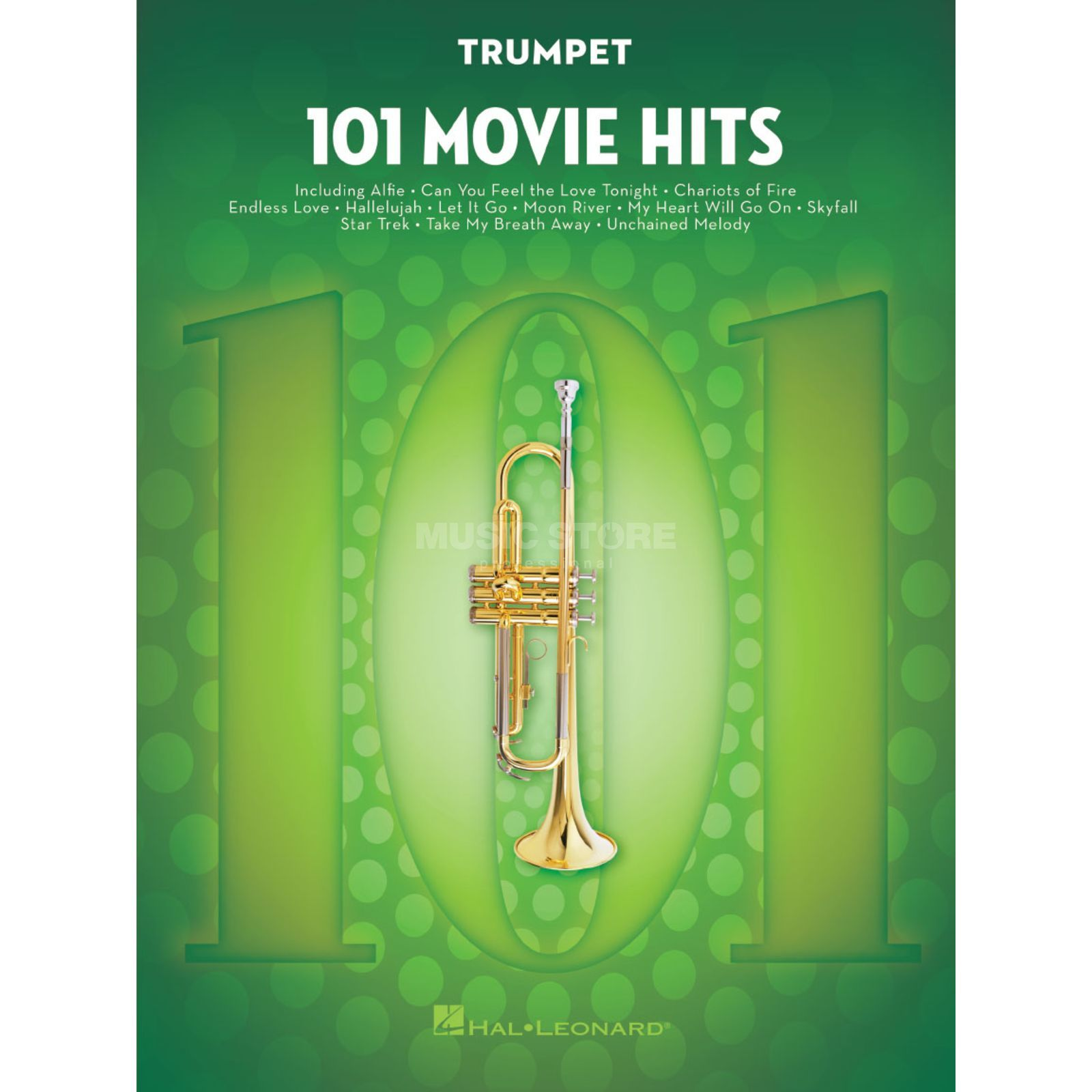 Hal Leonard 101 Movie Hits For Trumpet Image du produit