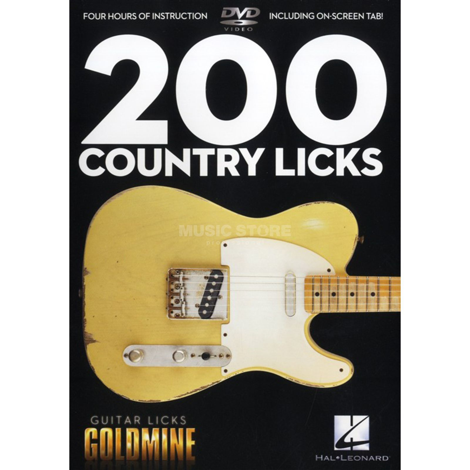 Hal Leonard 200 Country Licks DVD Produktbillede