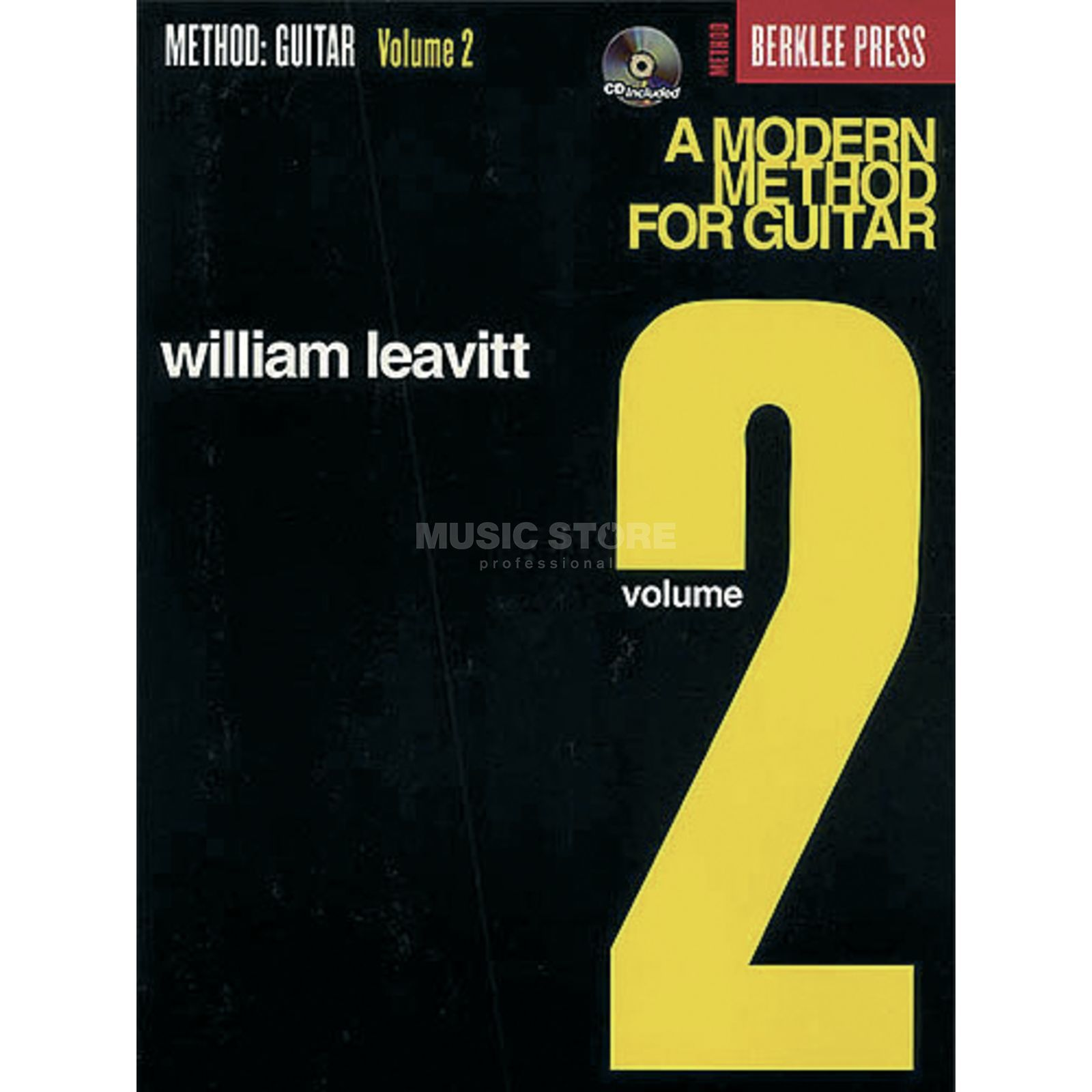 Hal Leonard A Modern Method for Guitar 2 William Leavitt,inkl. CD Produktbillede