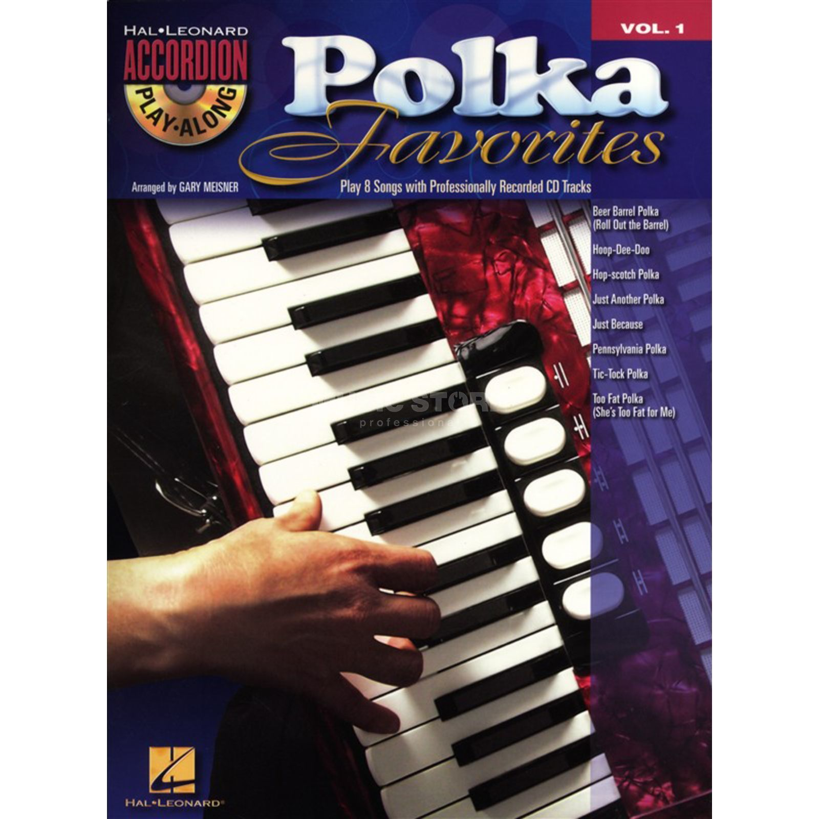 Hal Leonard Accordion Play-Along: Polka Favourites Vol.1, CD Produktbillede