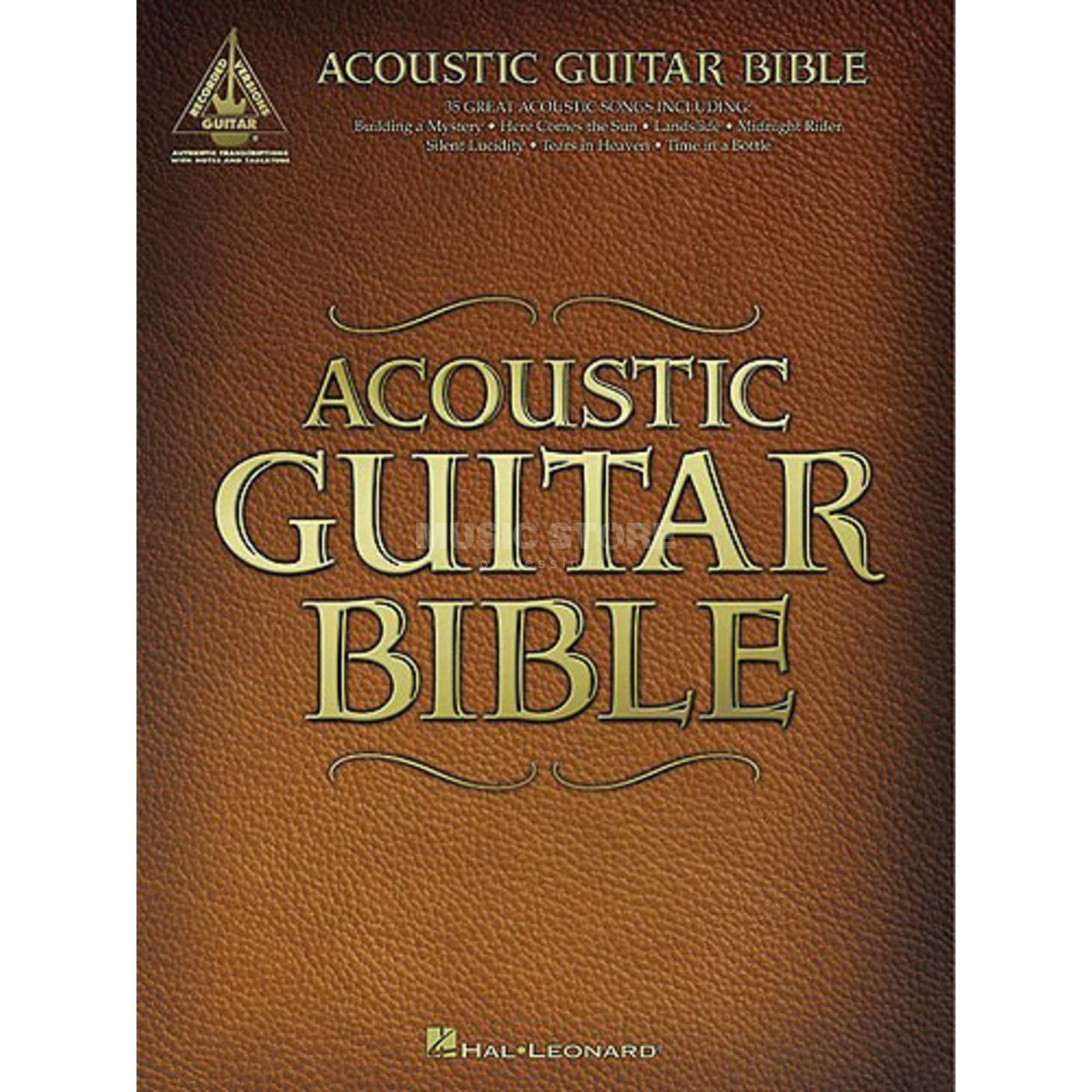 Hal Leonard Acoustic Guitar Bible - Guitar Recorded Versions Produktbild