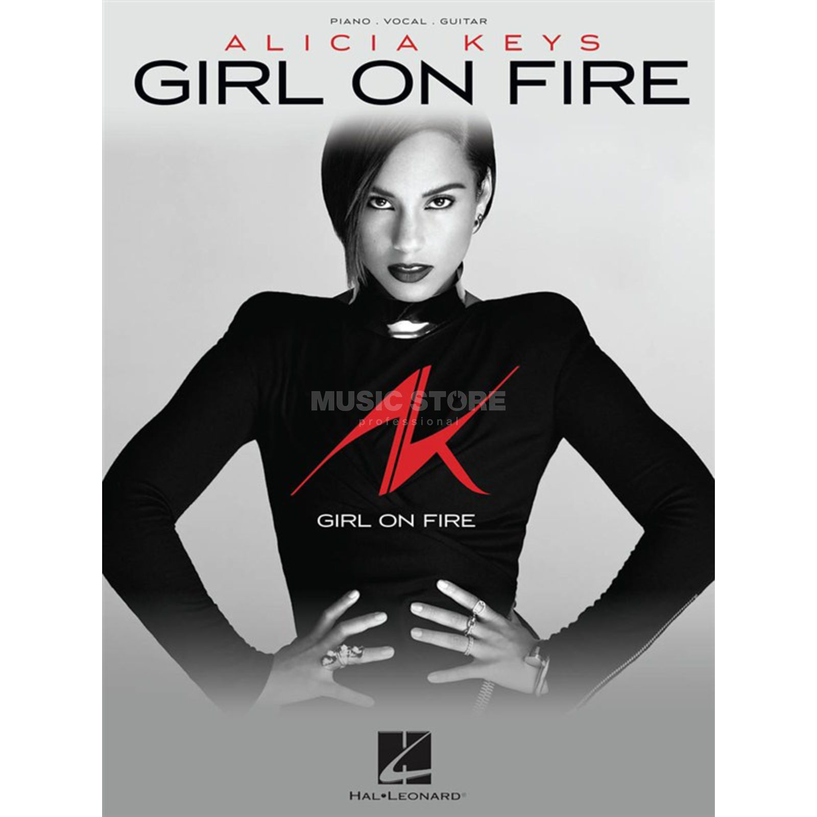 Hal Leonard Alicia Keys: Girl On Fire PVG Produktbild