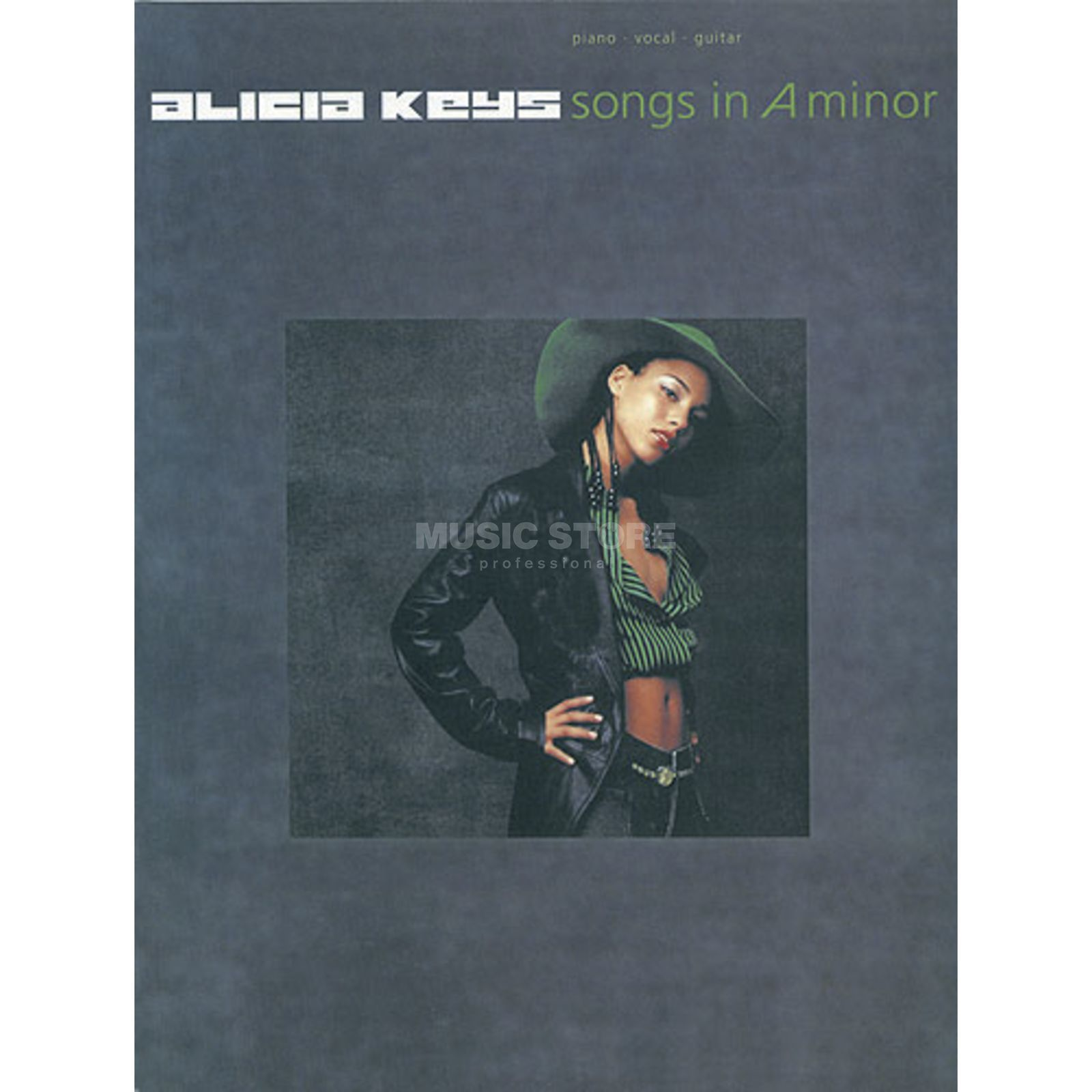 Hal Leonard Alicia Keys: Songs in A minor PVG Produktbillede