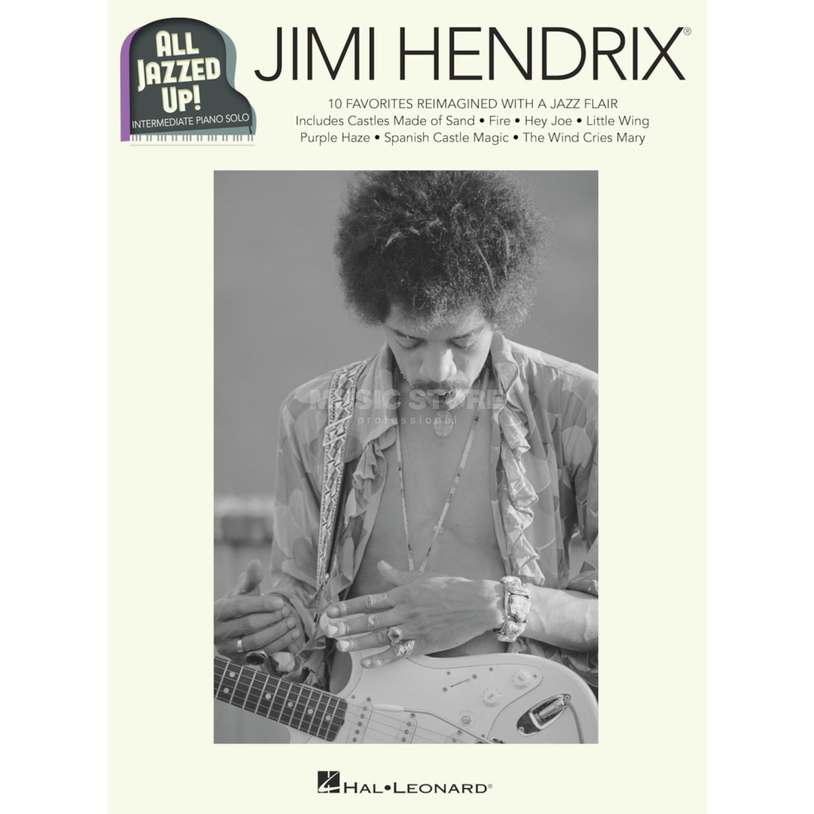 Hal Leonard All Jazzed Up!: Jimi Hendrix Product Image
