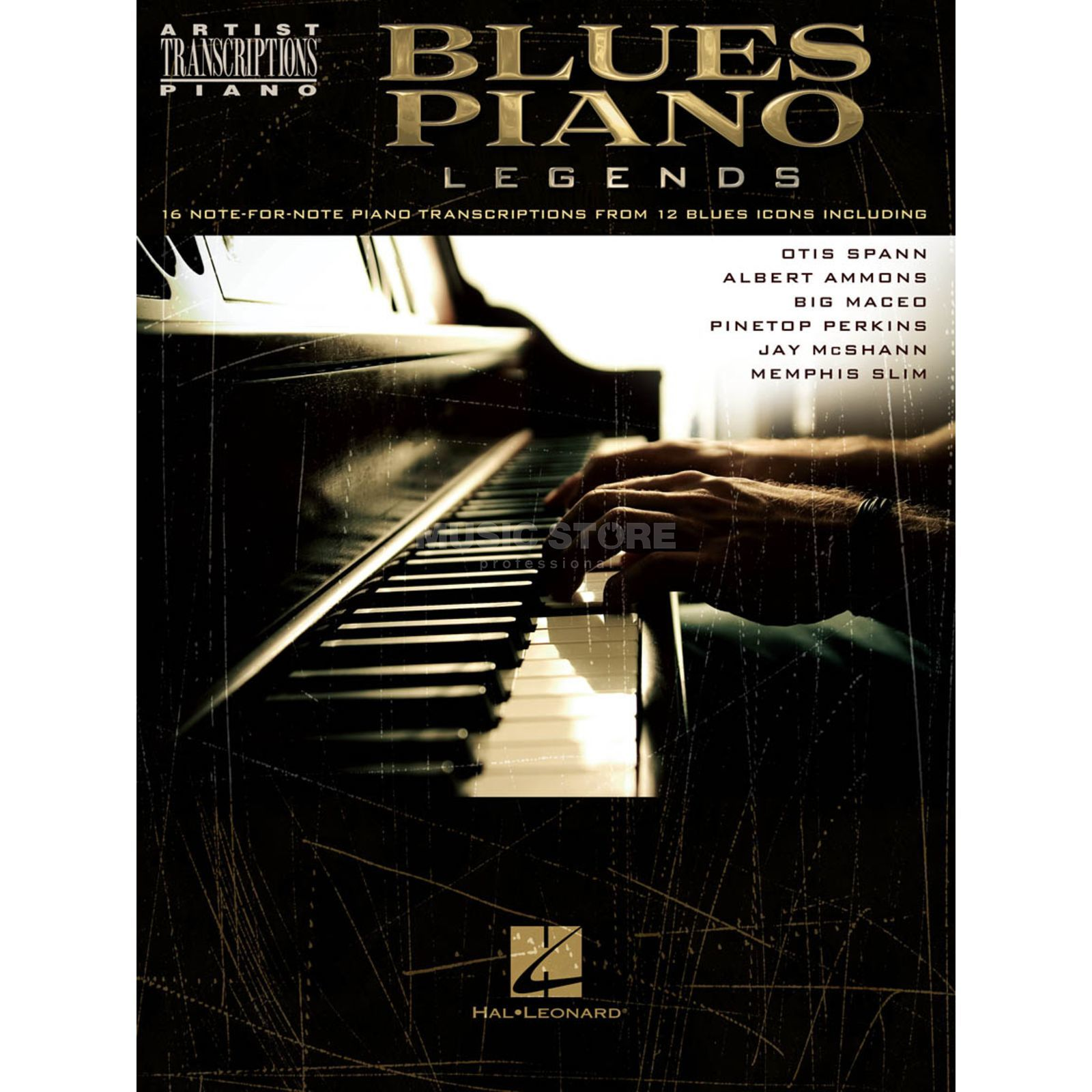 Hal Leonard Artist Transcriptions: Blues Piano Legends Produktbild