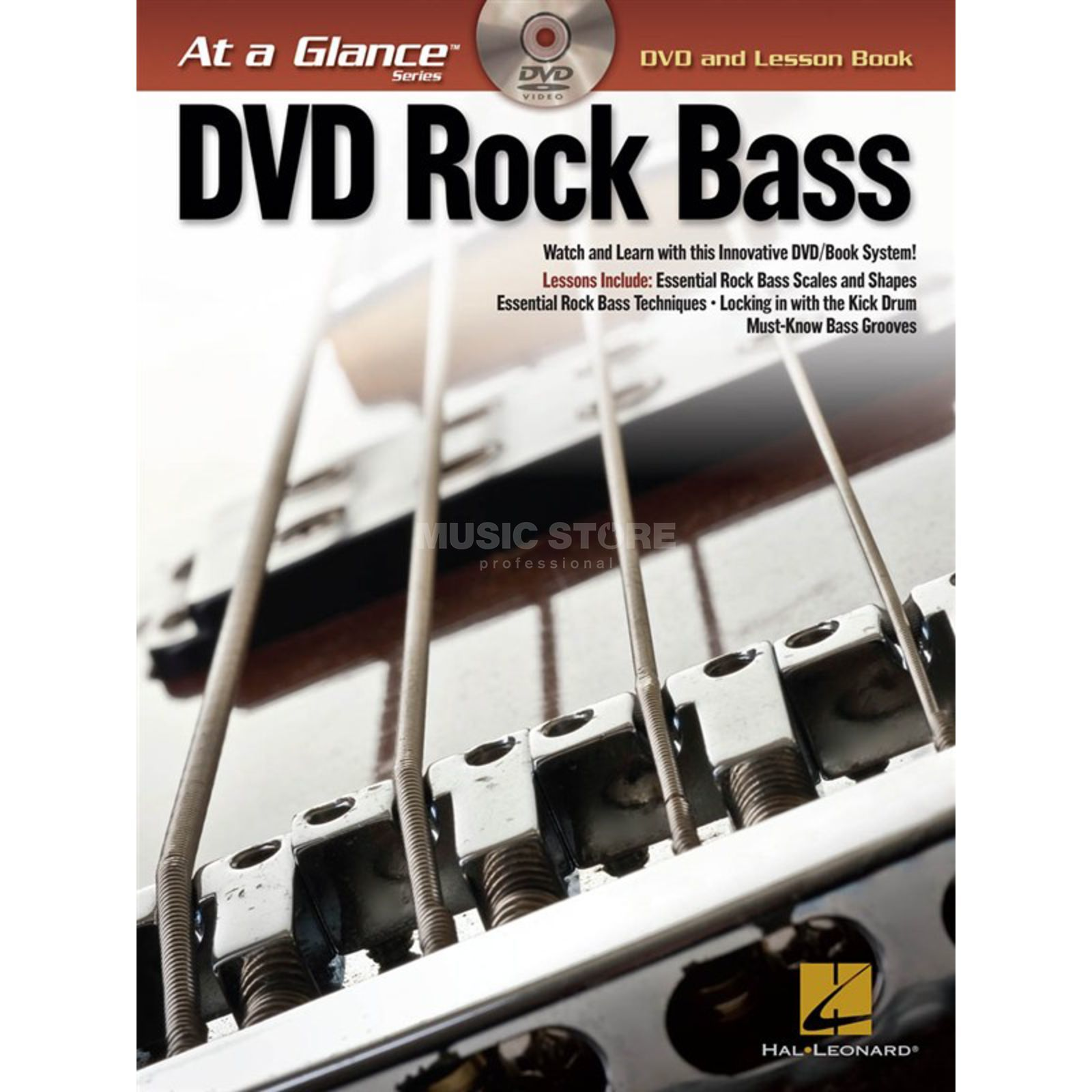 Hal Leonard At A Glance: Rock Bass Bass TAB Produktbild