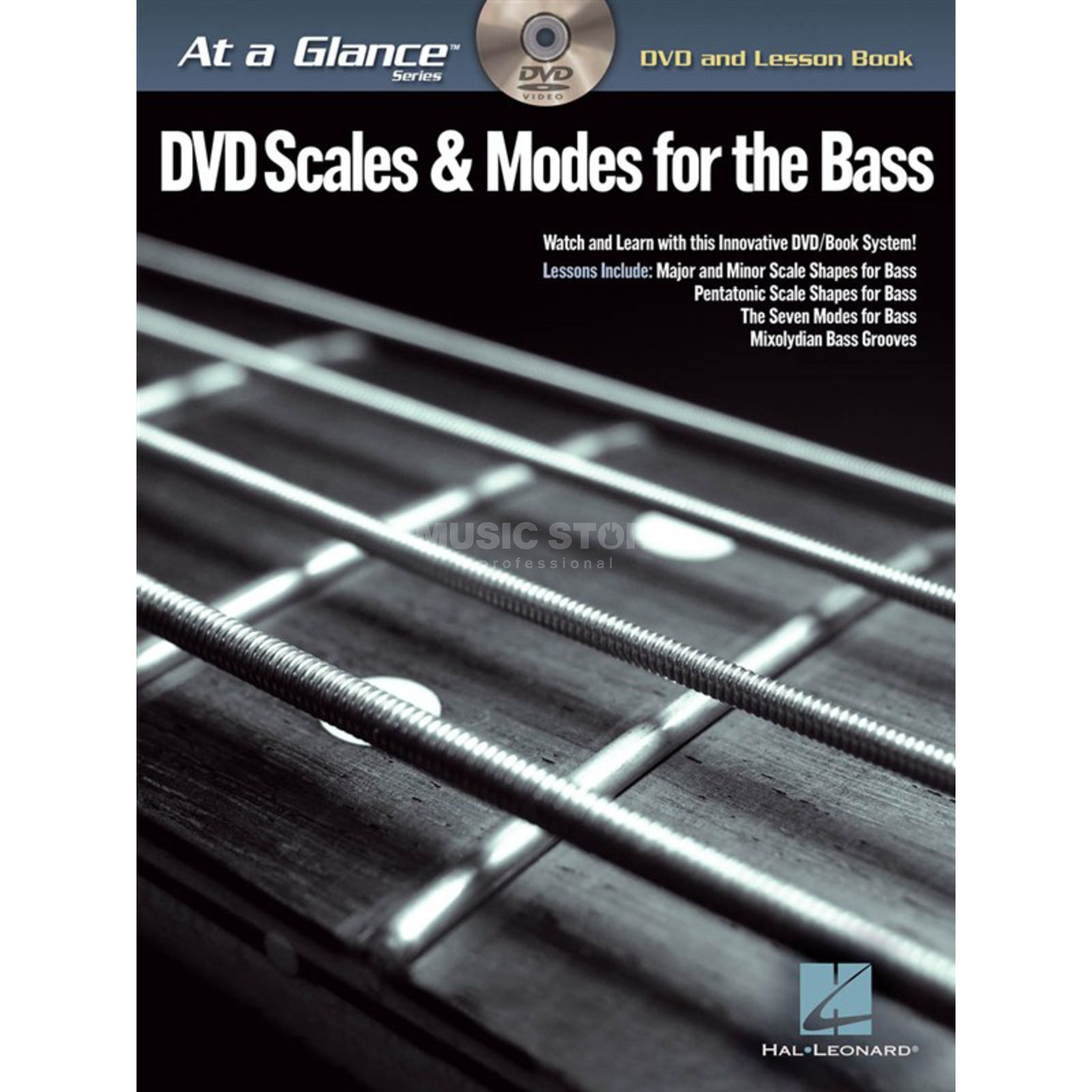 Hal Leonard At A Glance: Scales&Modes Bass Bass TAB Produktbillede