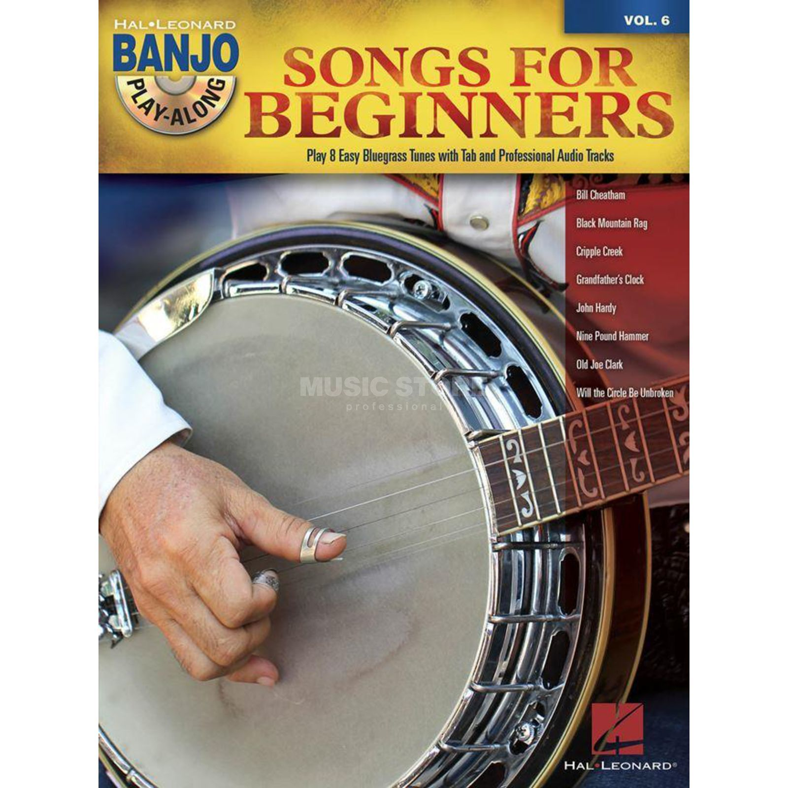 Hal Leonard Banjo Play-Along: Songs for Beginners Vol. 6, Banjo mit CD Produktbild