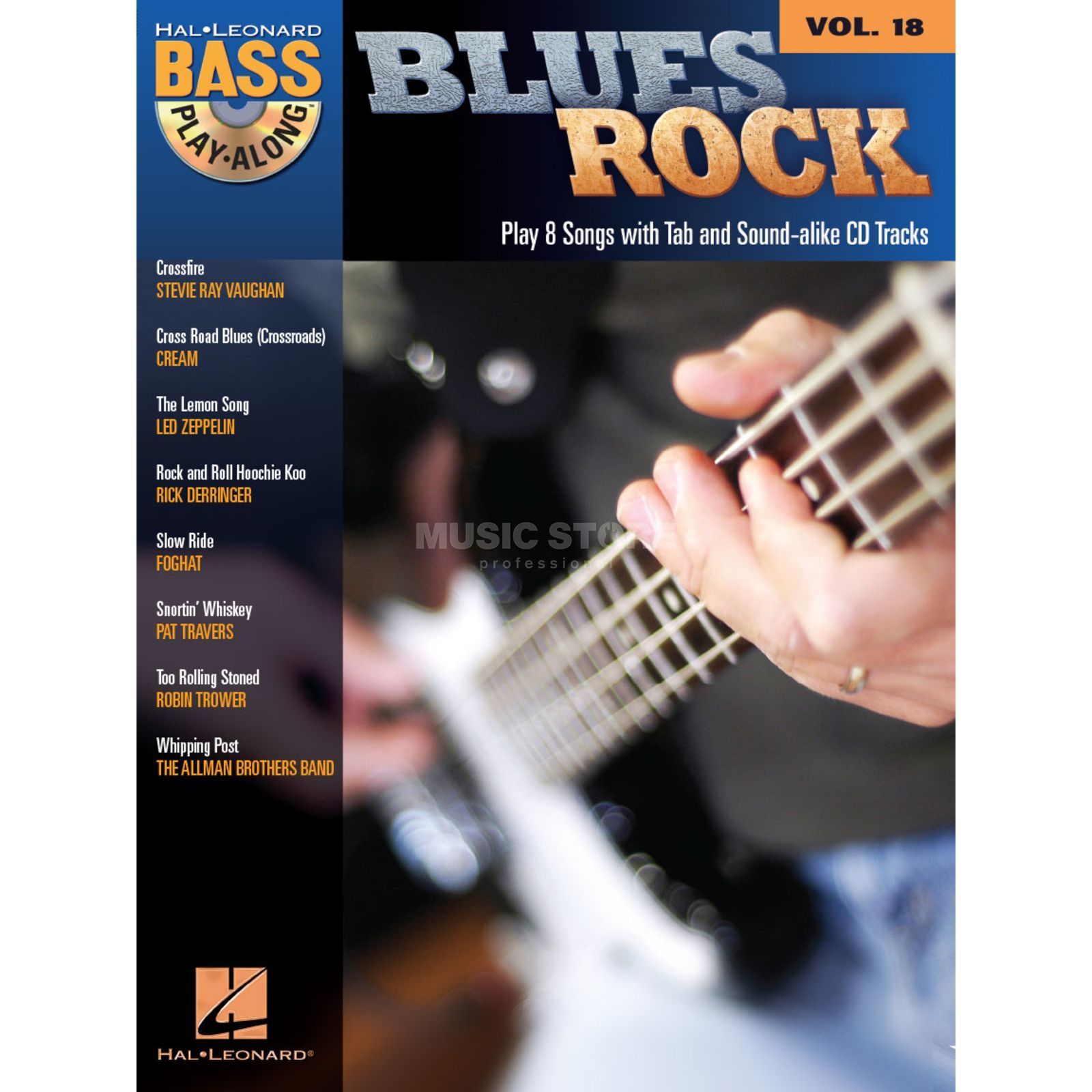 Hal Leonard Bass Play-Along - Blues Rock Vol. 18, Bass TAB Produktbild
