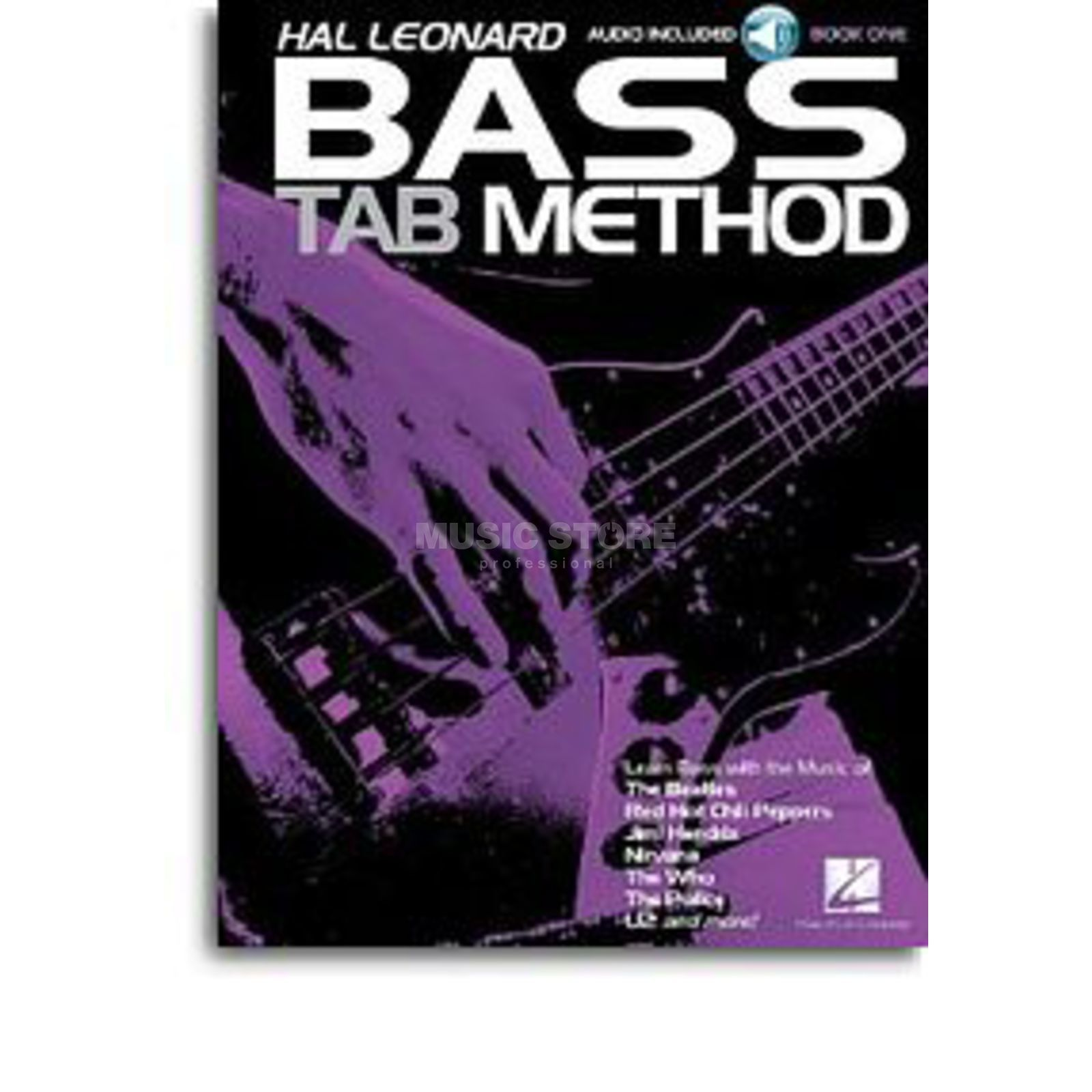Hal Leonard Bass Tab Method Songbook 1 Buch/CD Produktbild