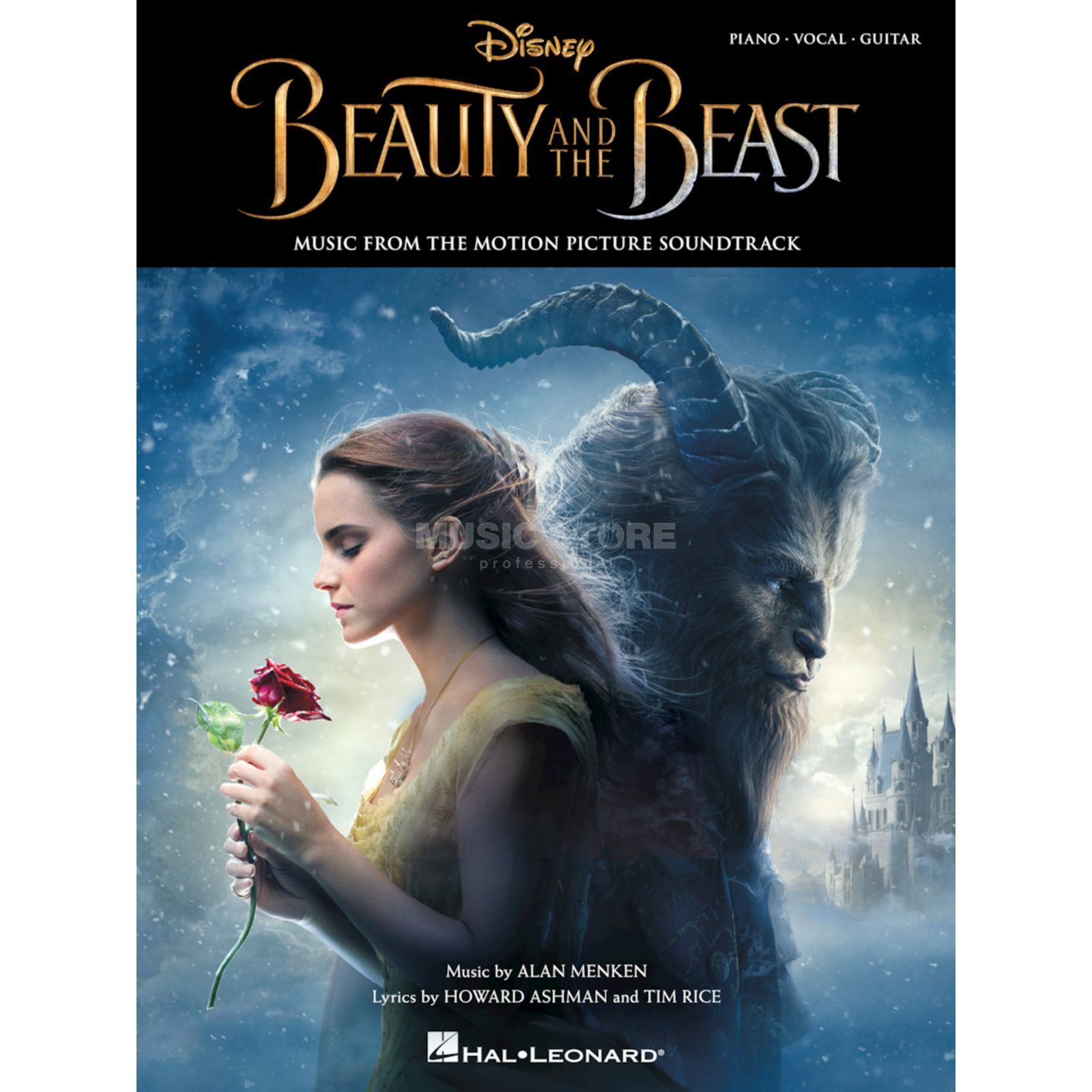 Hal Leonard Beauty And The Beast Music From The Motion