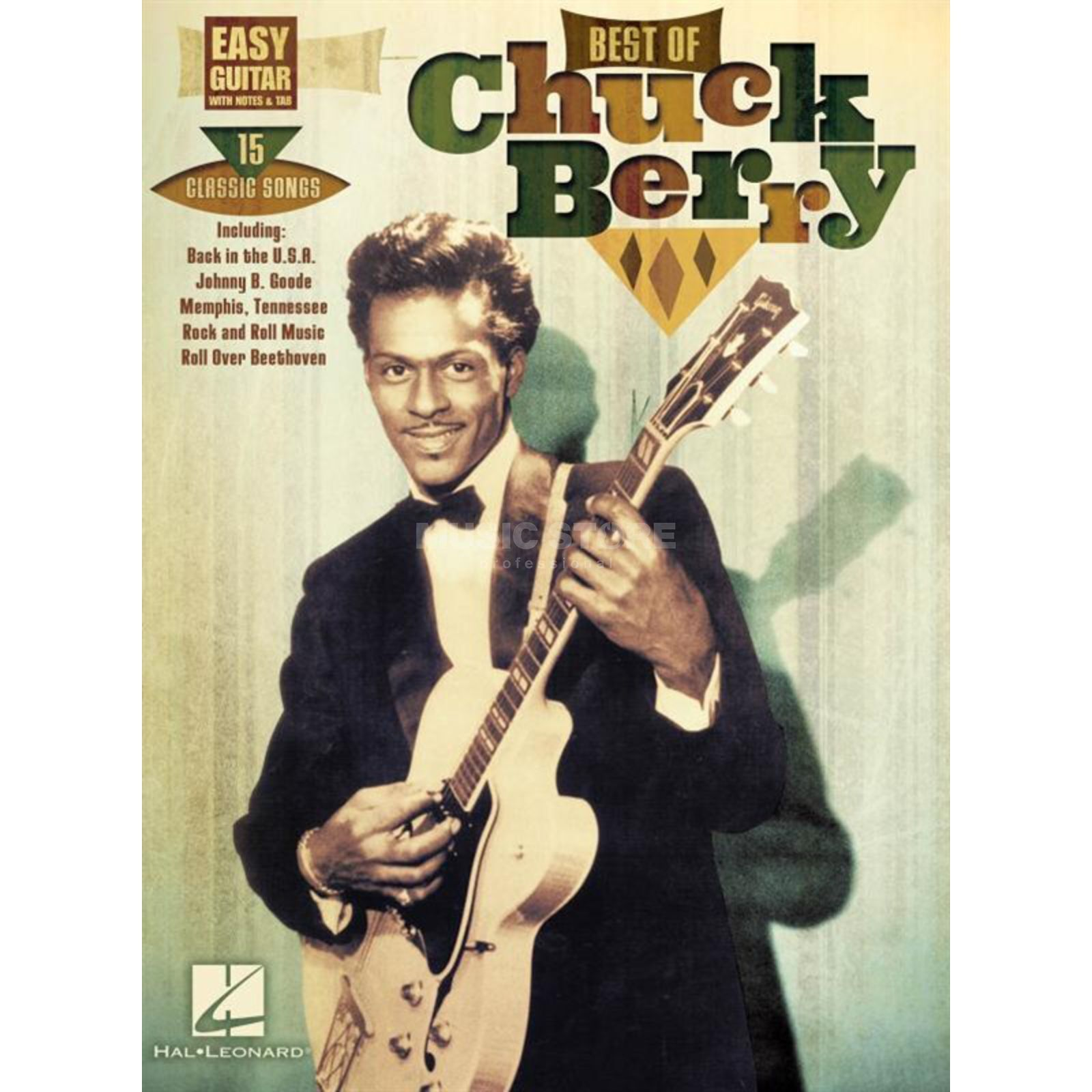 Hal Leonard Best Of Chuck Berry Guitar Produktbillede