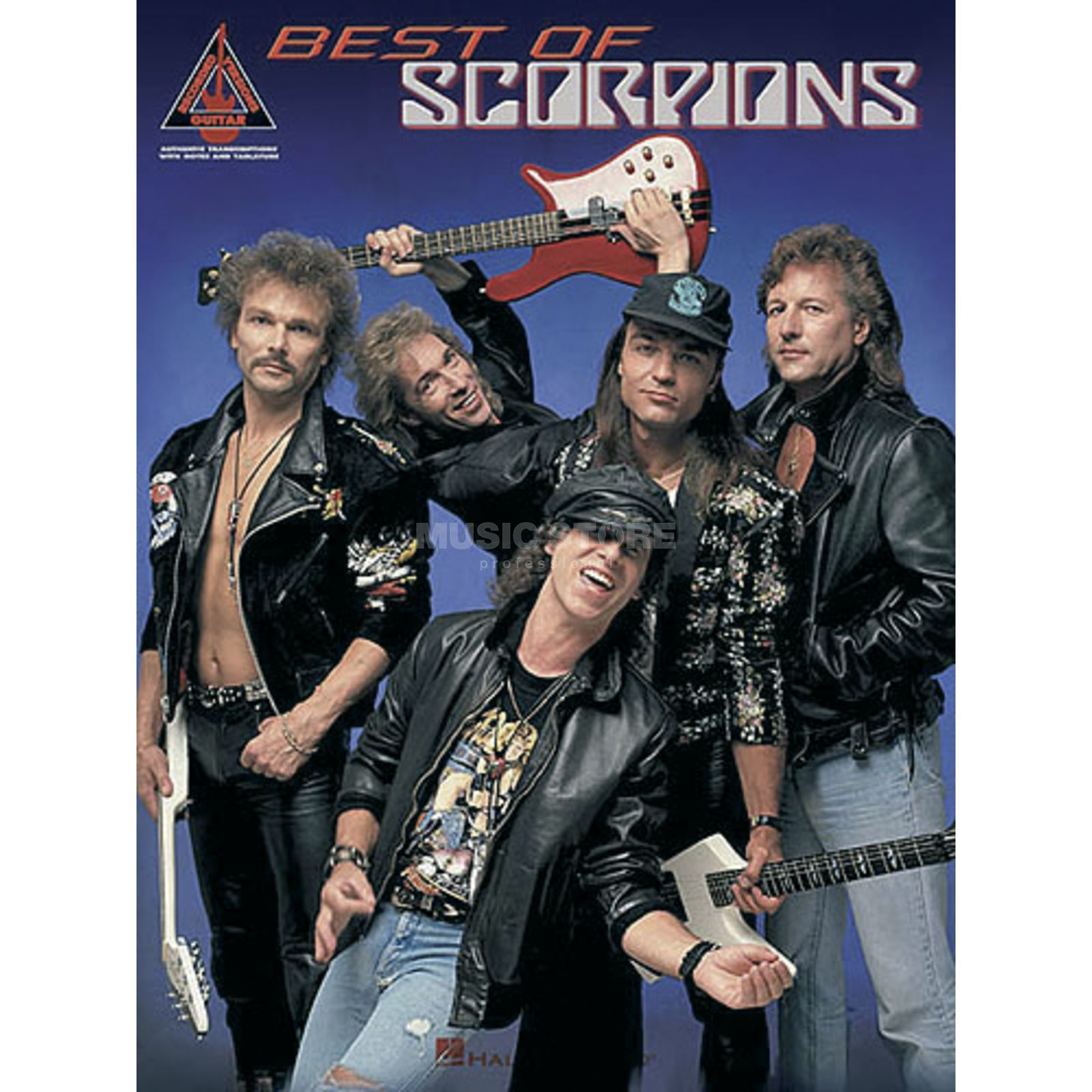 Hal Leonard Best Of Scorpions Guitar Recorded Versions TAB Produktbild