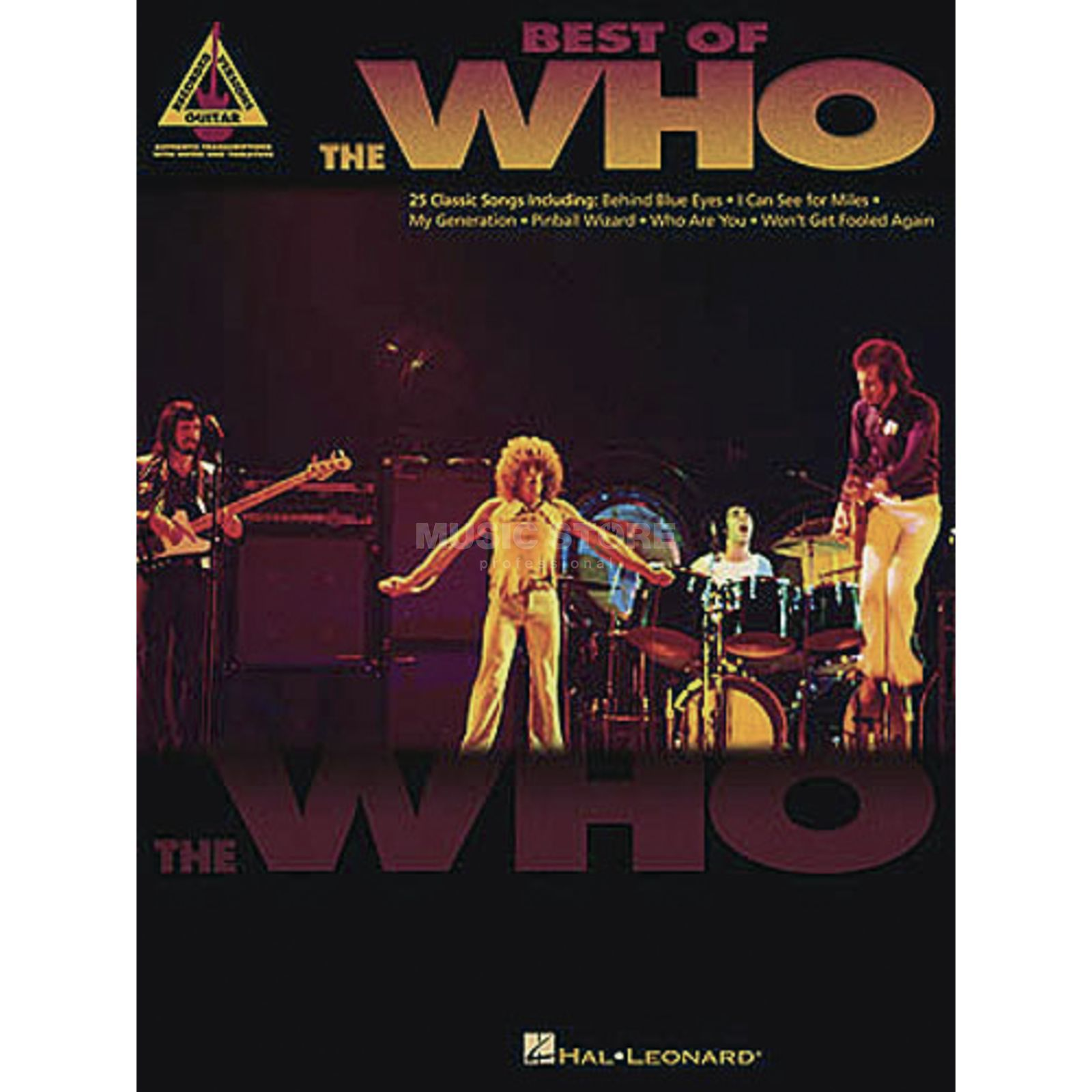 Hal Leonard Best Of The Who Guitar Recorded Versions TAB Produktbild