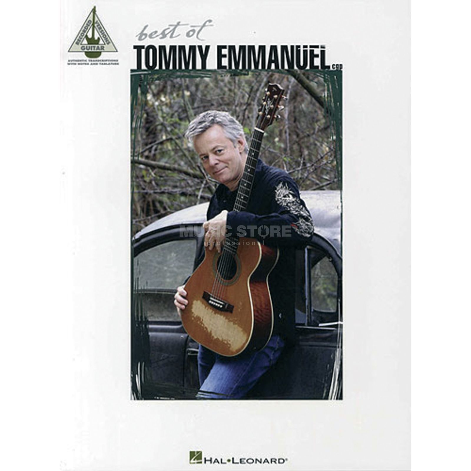 Hal Leonard Best Of Tommy Emmanuel Guitar Recorded Versions TAB Produktbild
