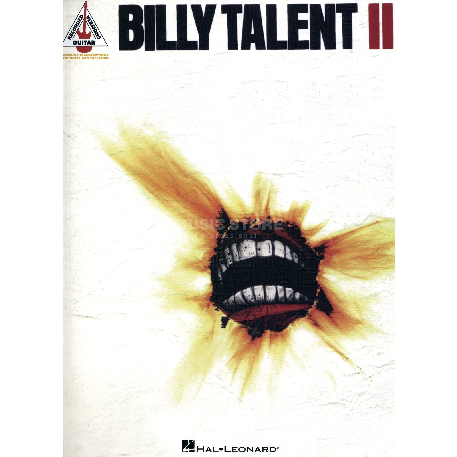 Hal Leonard Billy Talent II TAB Produktbild
