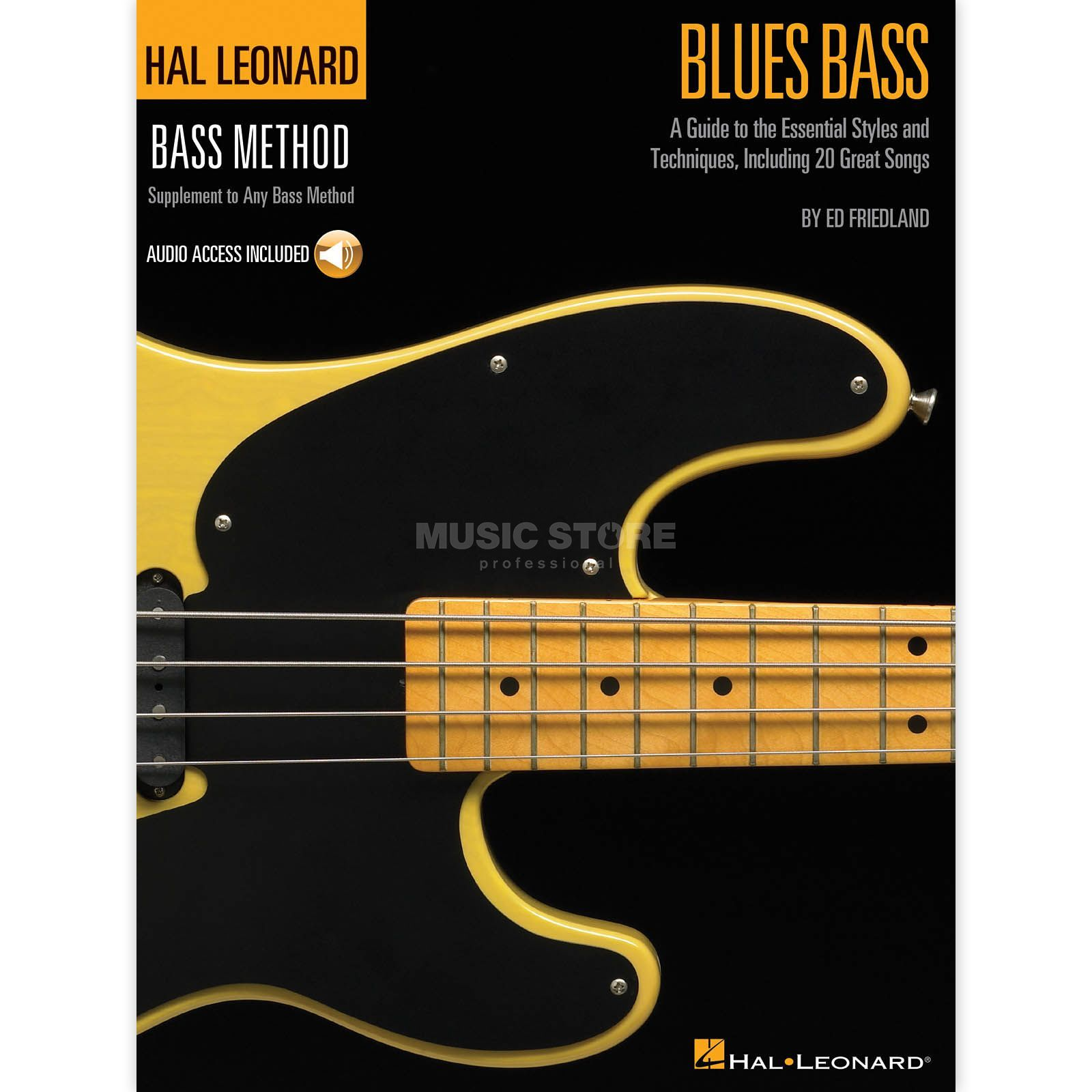 Hal Leonard Blues Bass Method Ed Friedland, inkl. CD Produktbild