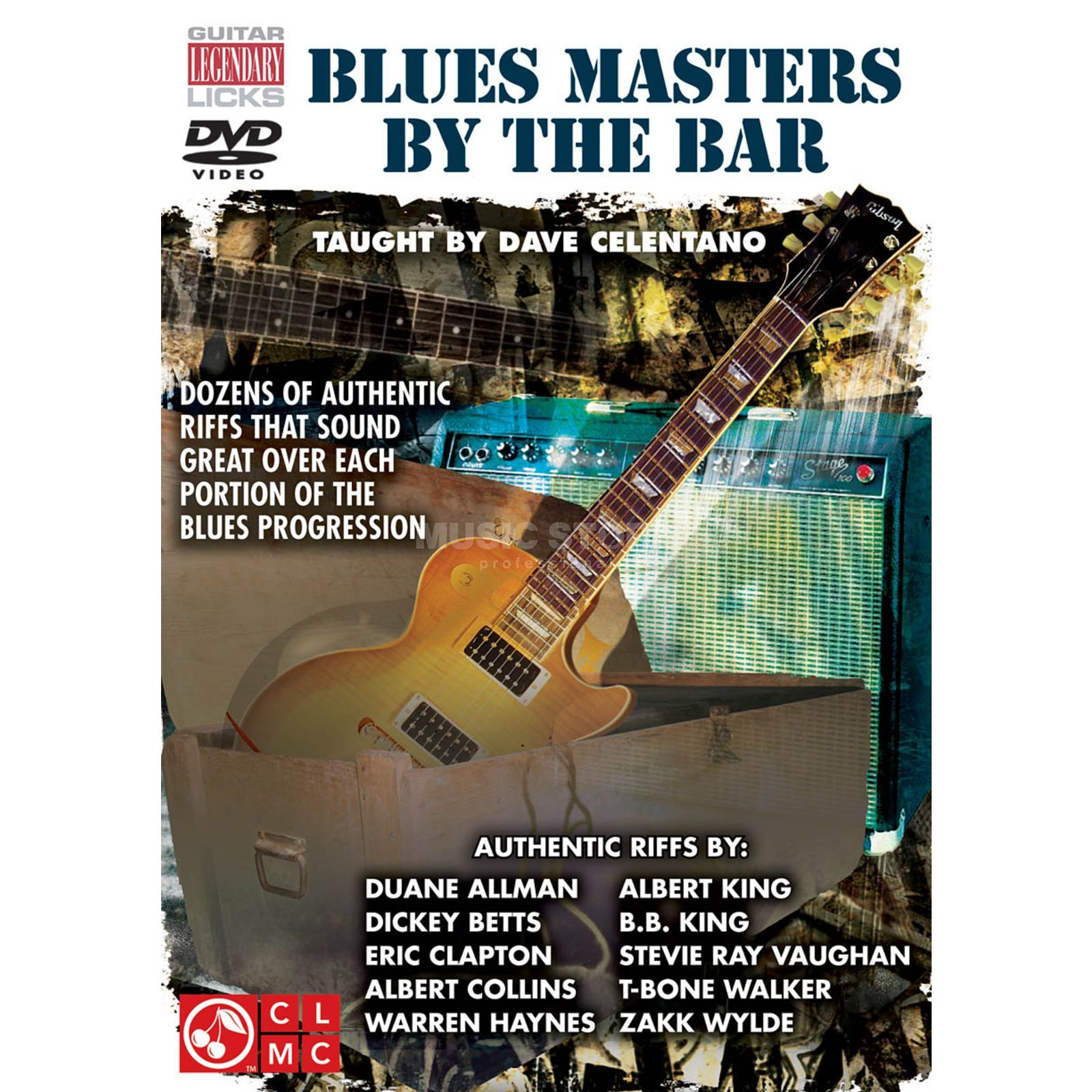 Hal Leonard Blues Masters By The Bar DVD DVD, Dave Celentano Produktbild