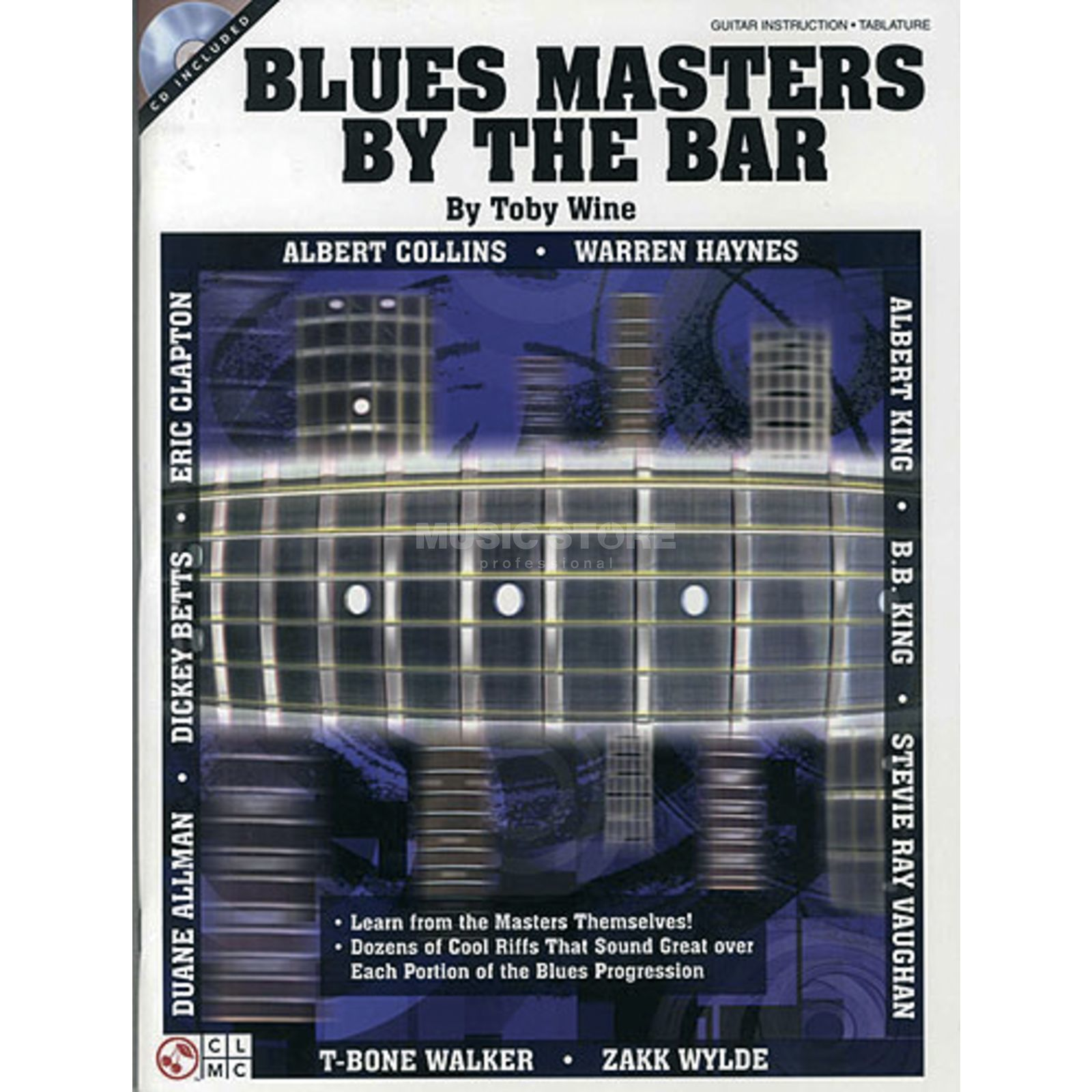 Hal Leonard Blues Masters By The Bar Toby Wine, Buch und CD Produktbillede