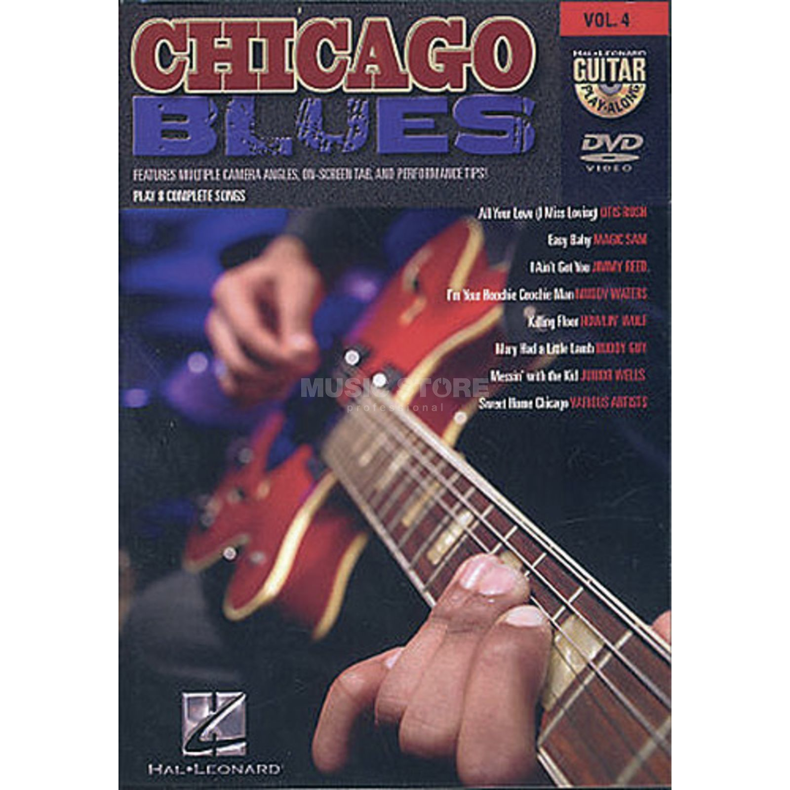 Hal Leonard Chicago Blues Guitar Play Along DVD Produktbild