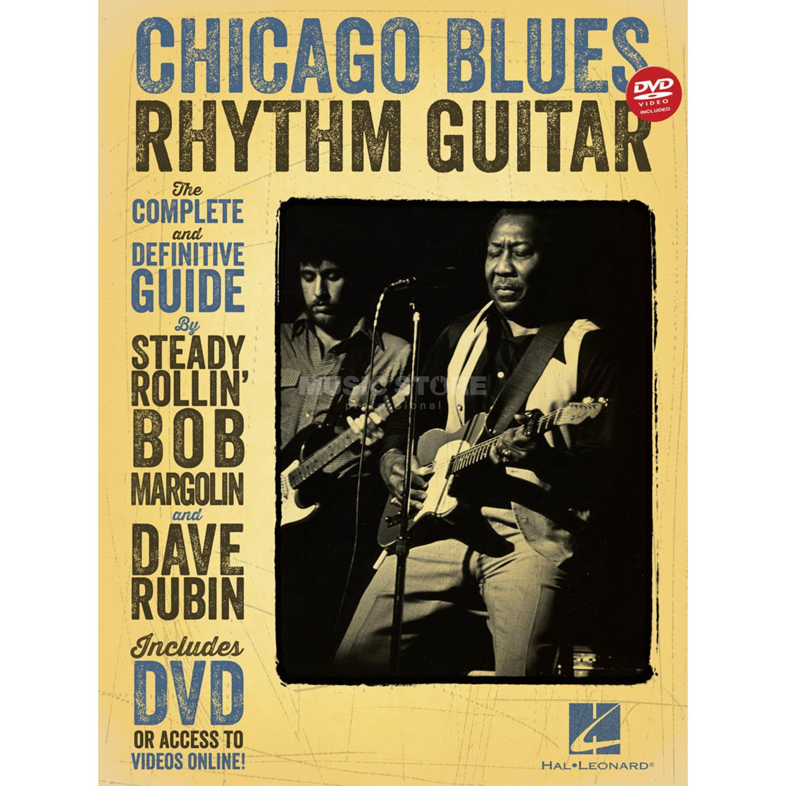 Hal Leonard Chicago Blues Rhythm Guitar: Complete Definitive Guide TAB Produktbillede