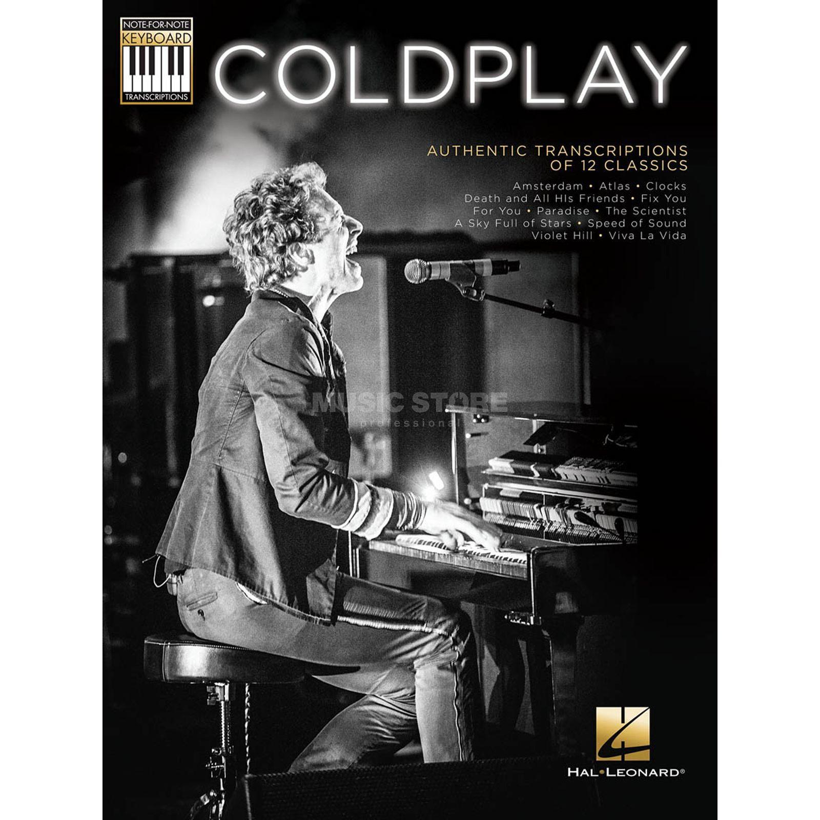 Hal Leonard Coldplay: Authentic Transcriptions Of 12 Classics Produktbild