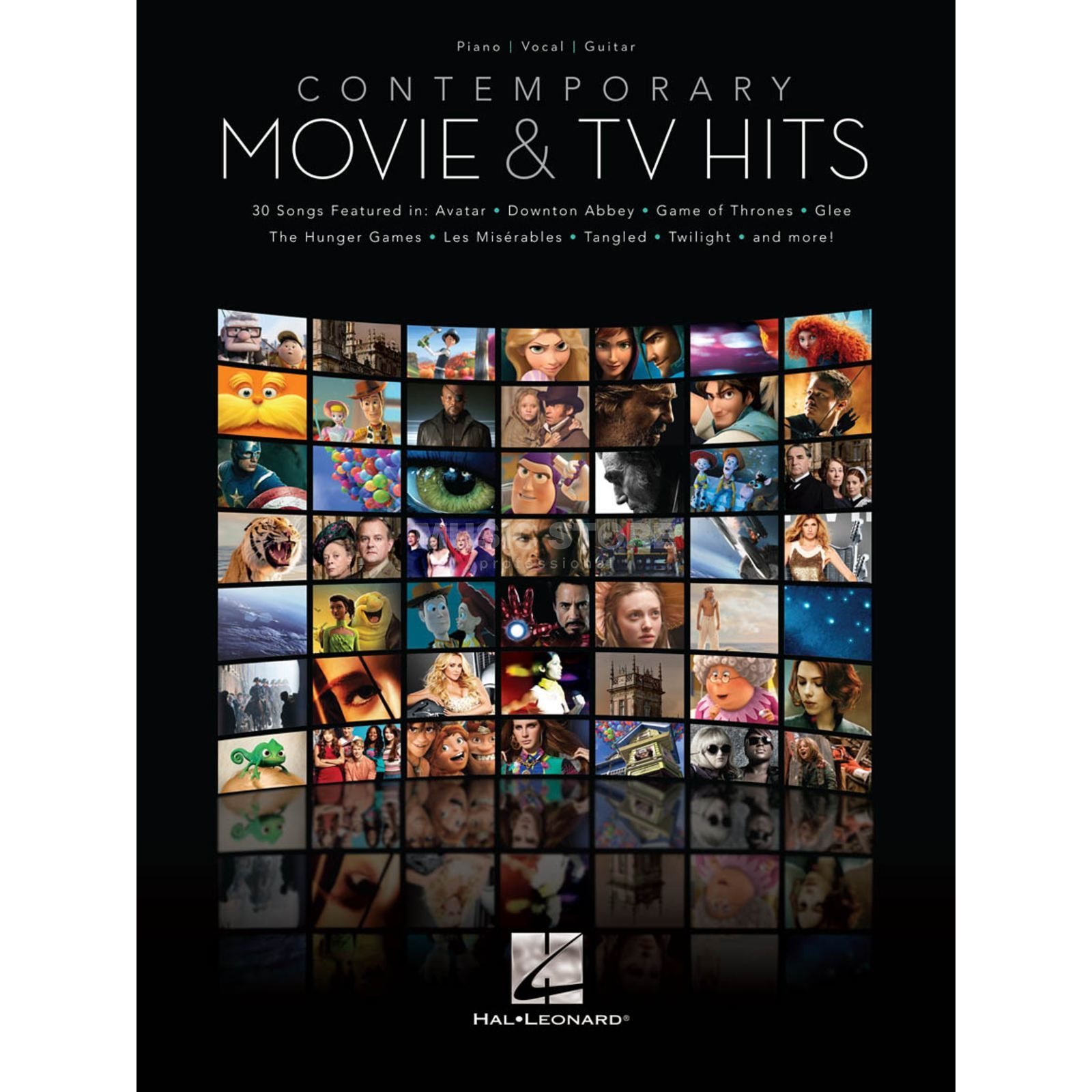 Hal Leonard Contemporary Movie & TV Hits PVG Produktbild