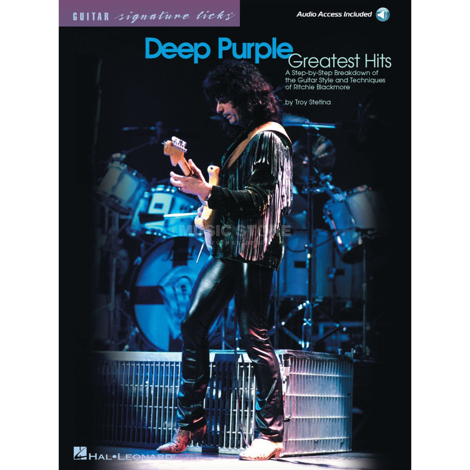 Hal Leonard Deep Purple Guitar Signature Licks TAB Produktbild