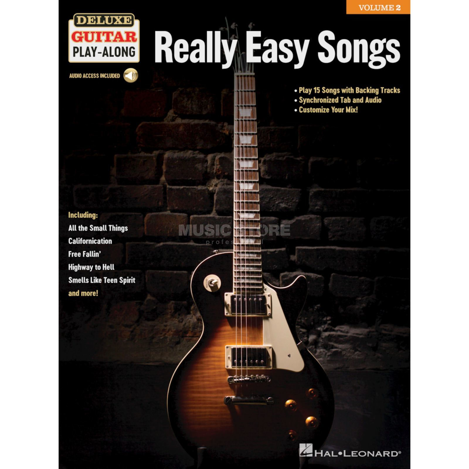 Hal Leonard Deluxe Guitar Play-Along: Really Easy Songs Product Image